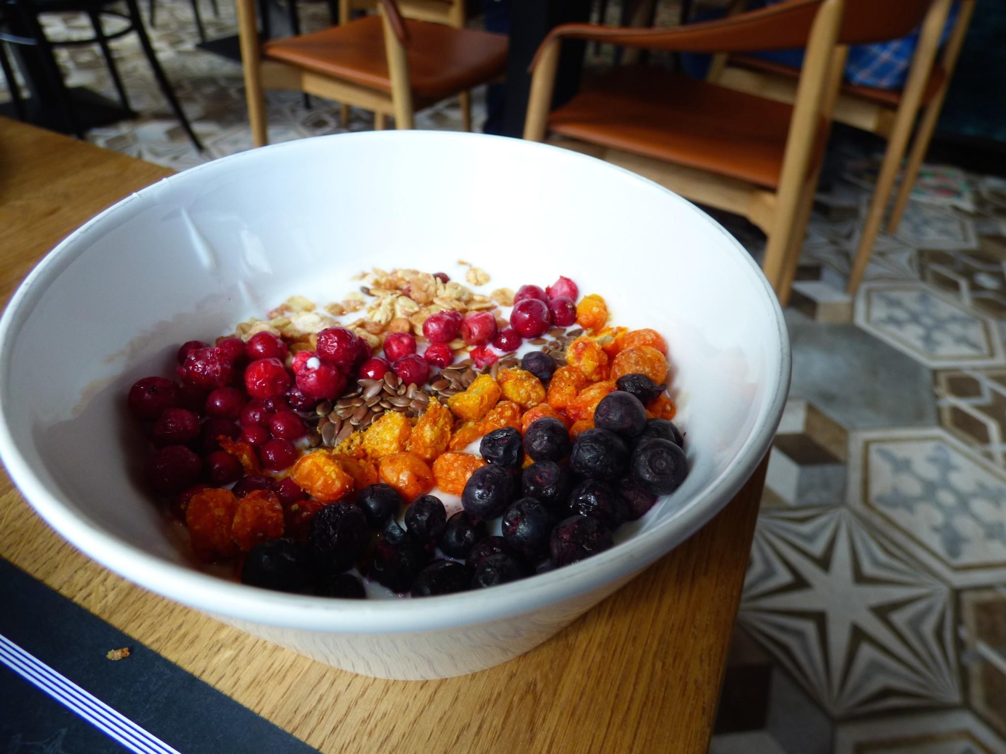 Lilla Roberts aamiainen