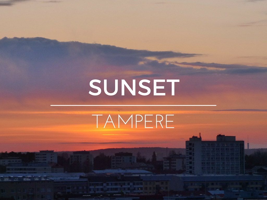 sunset tampere