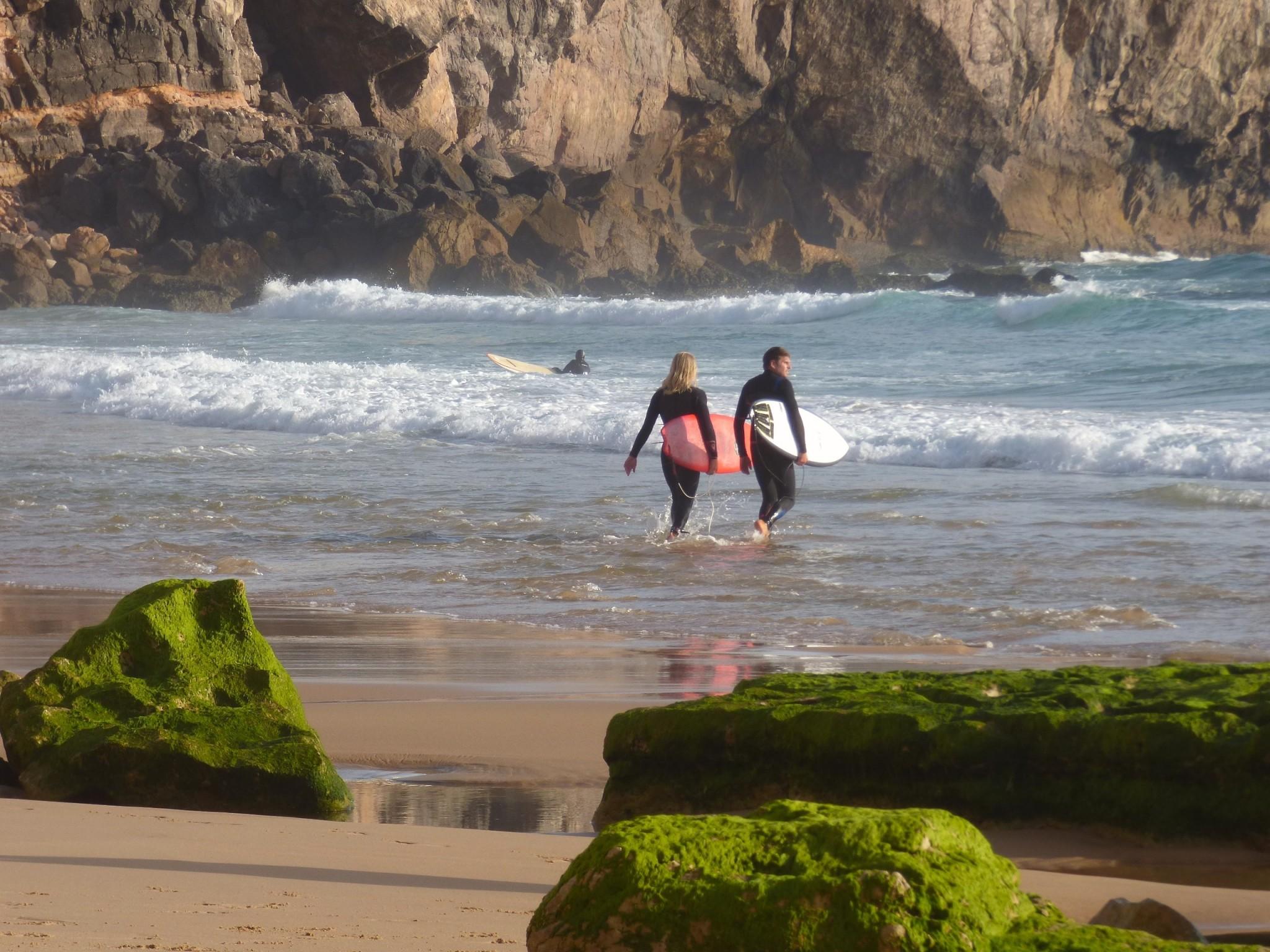 Praia Do Tonel Sagres Algarve