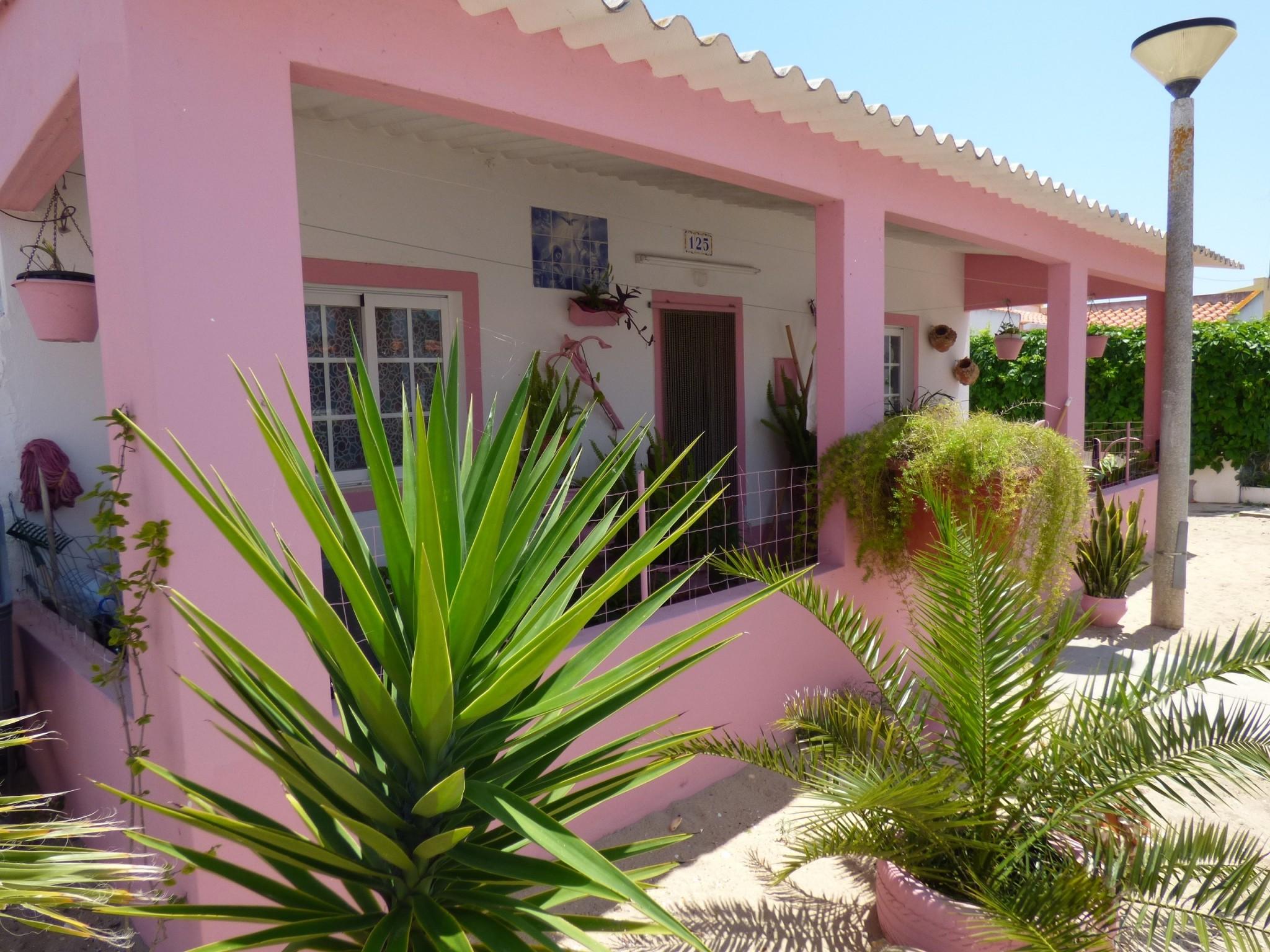 Algarve Culatra arkkitehtuuri