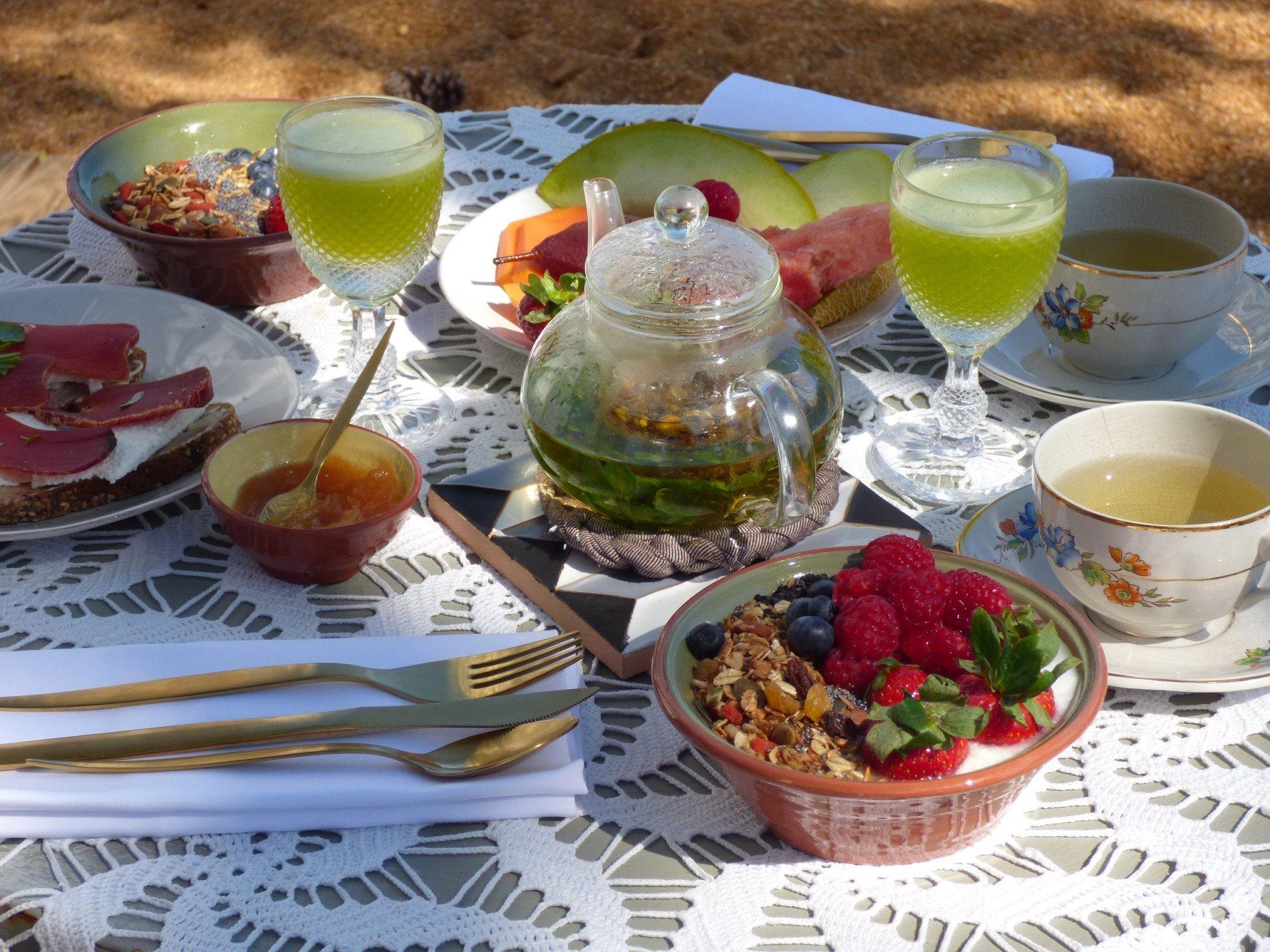Algarve Casa Modesta aamupala
