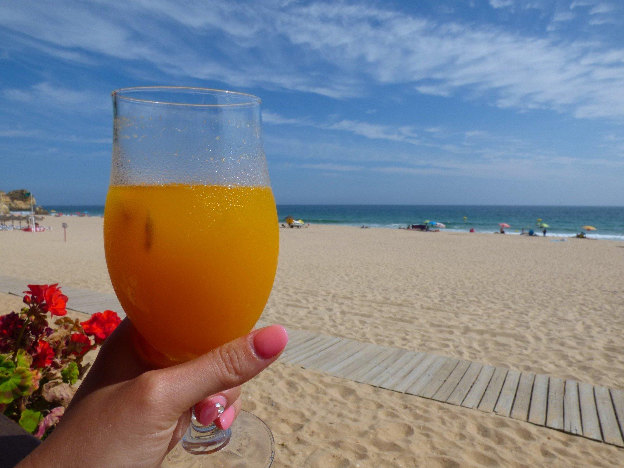 Algarve Alvor ranta