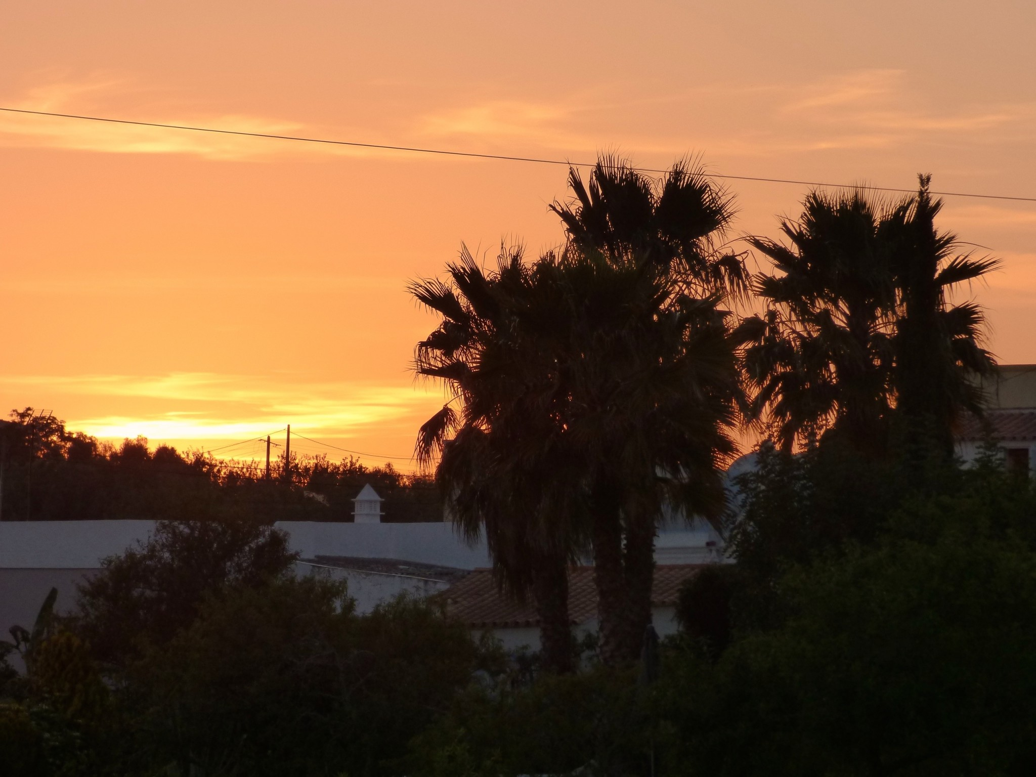 Casa Modesta Algarve sunset
