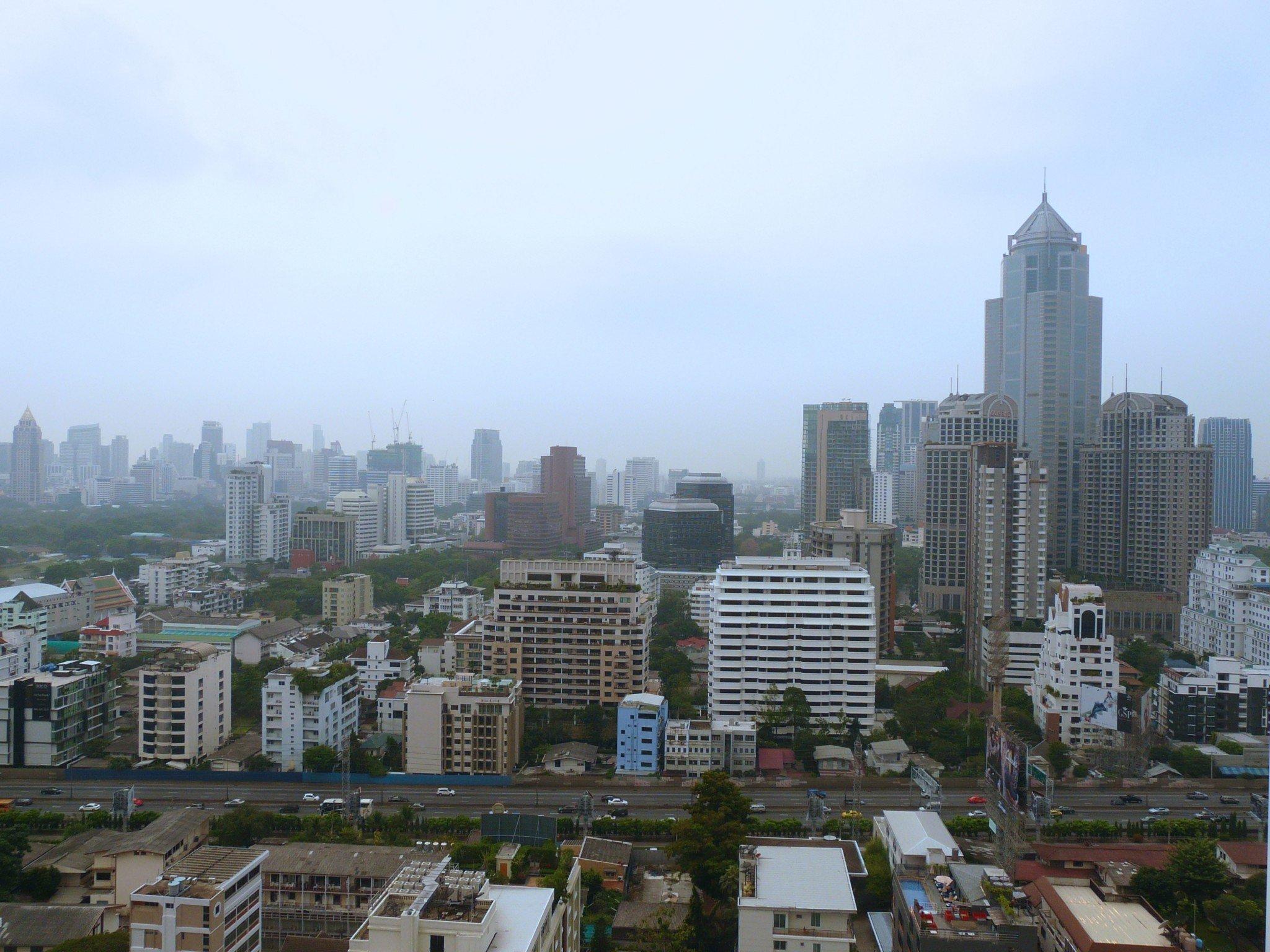 Liikkuminen Bangkokissa