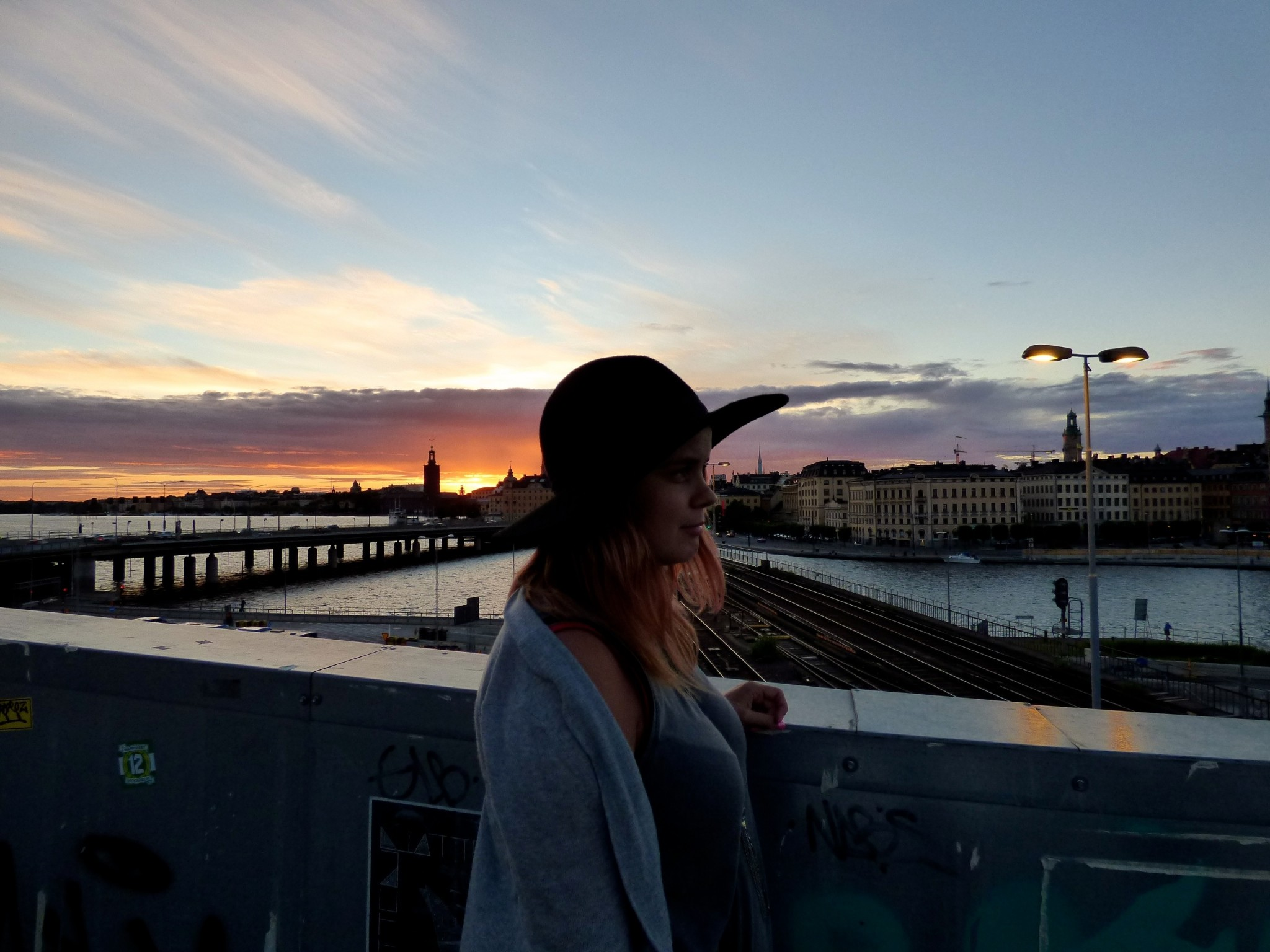 Tukholma auringonlasku