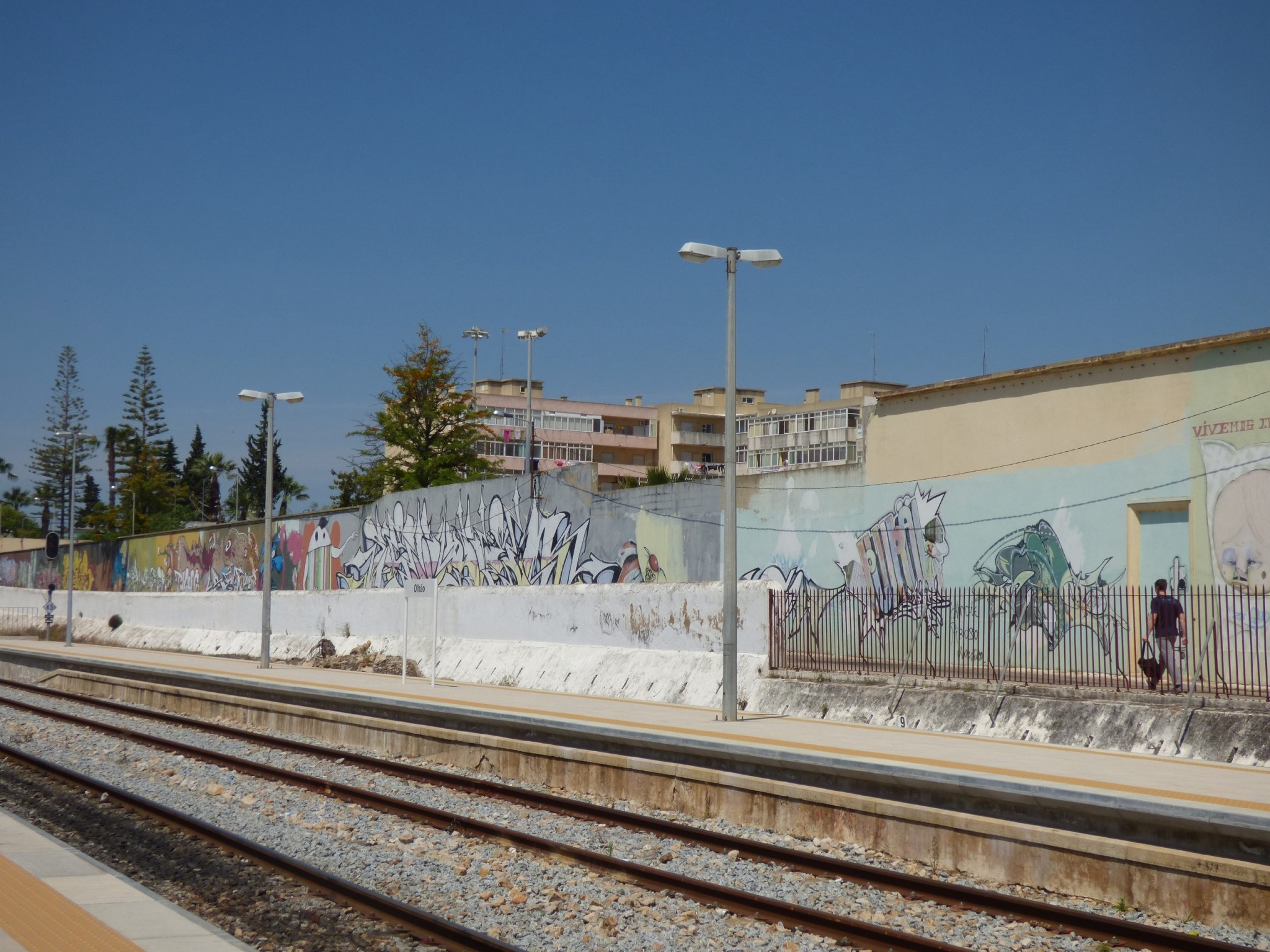 Olhao juna-asema Algarve