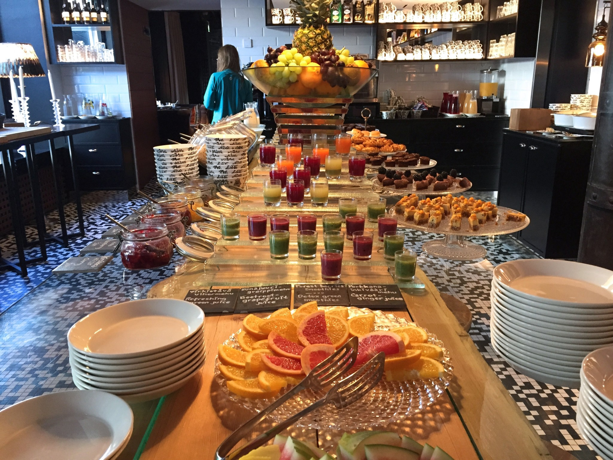 Arctic Light Hotel aamiainen