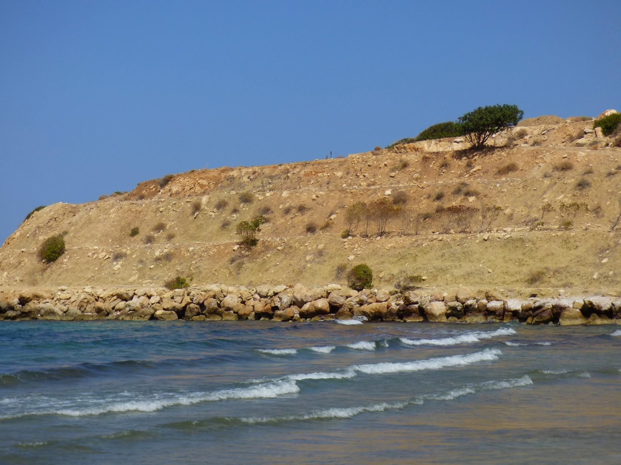 Pohjois-Kypros merenranta