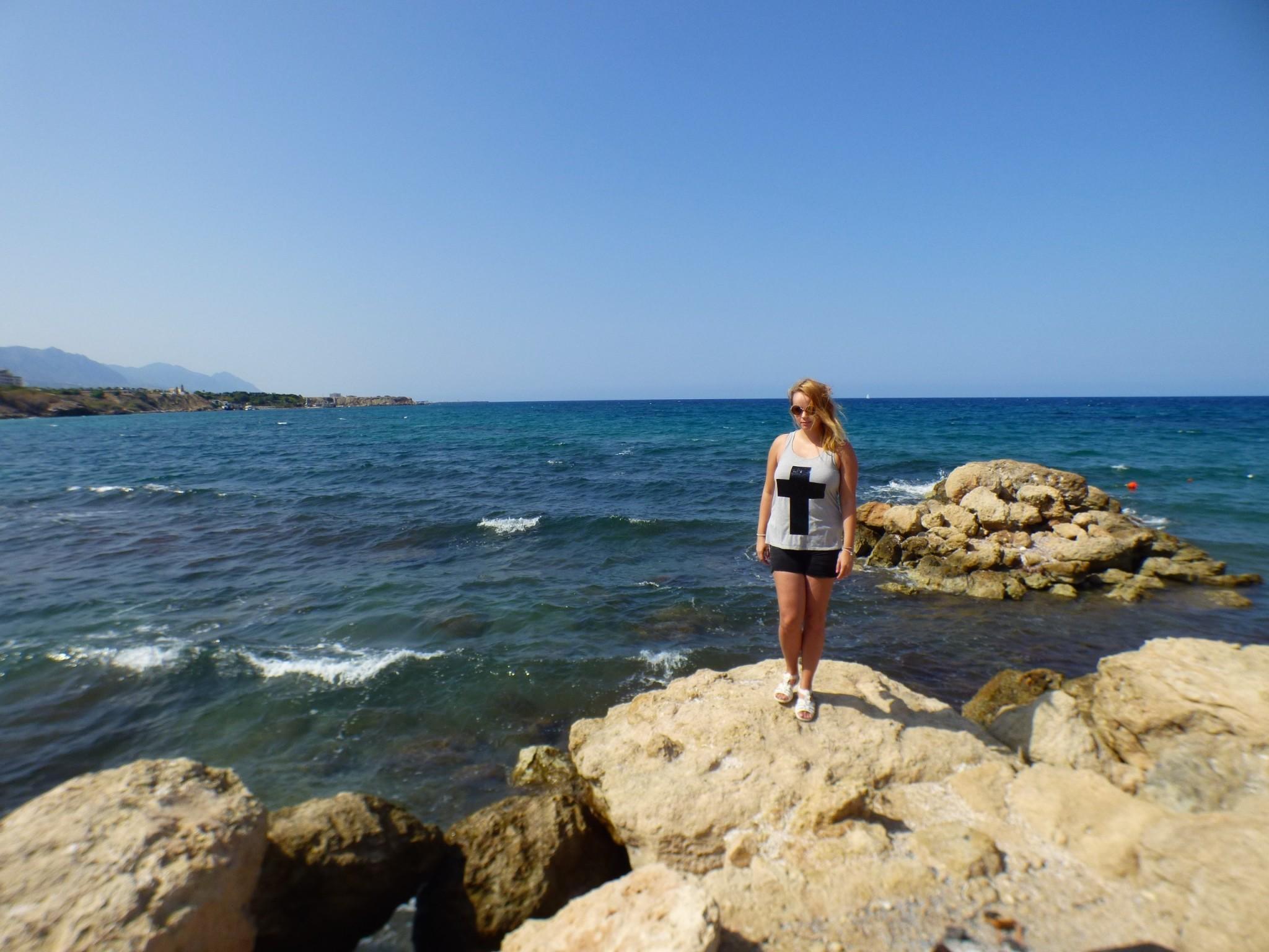Pohjois-Kypros ranta