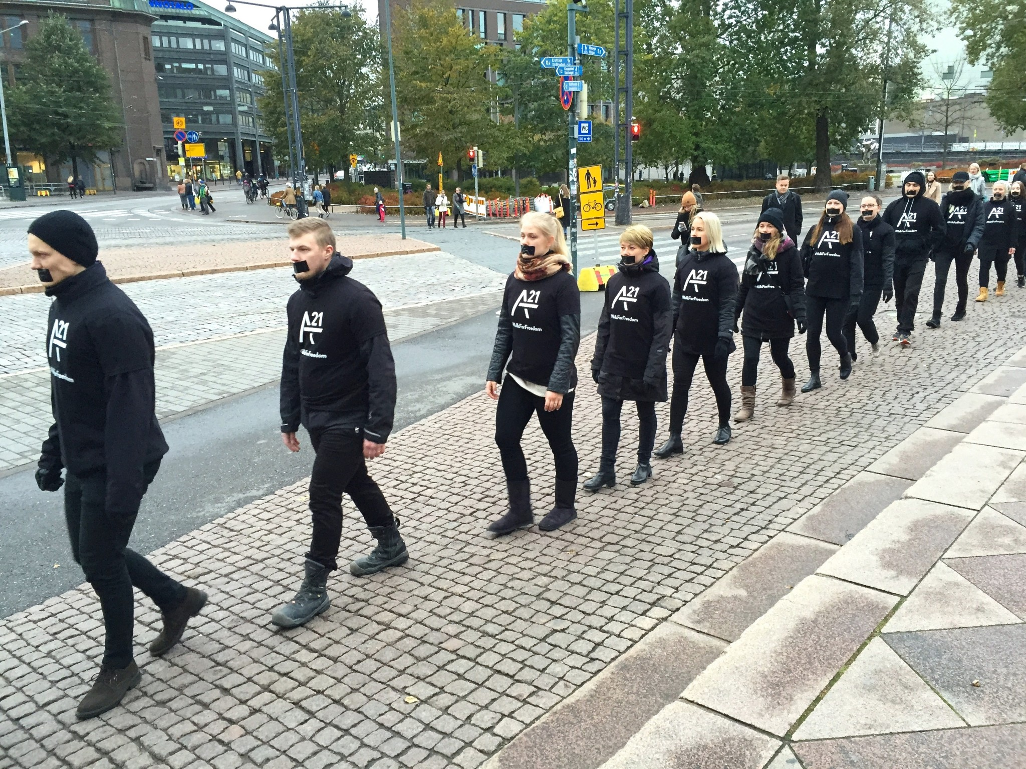 Walk For Freedom Helsinki
