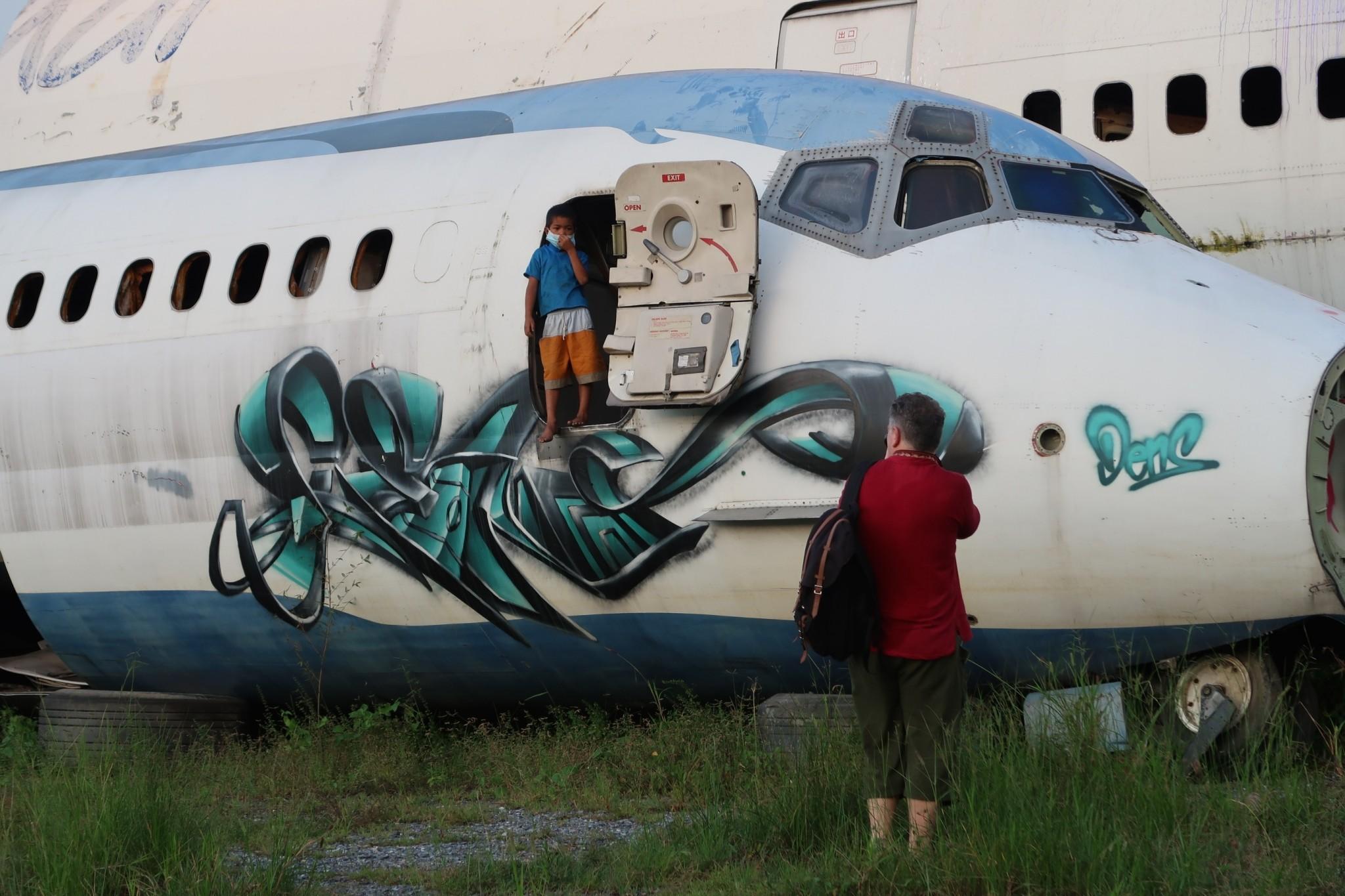 Lentokoneiden hautausmaa