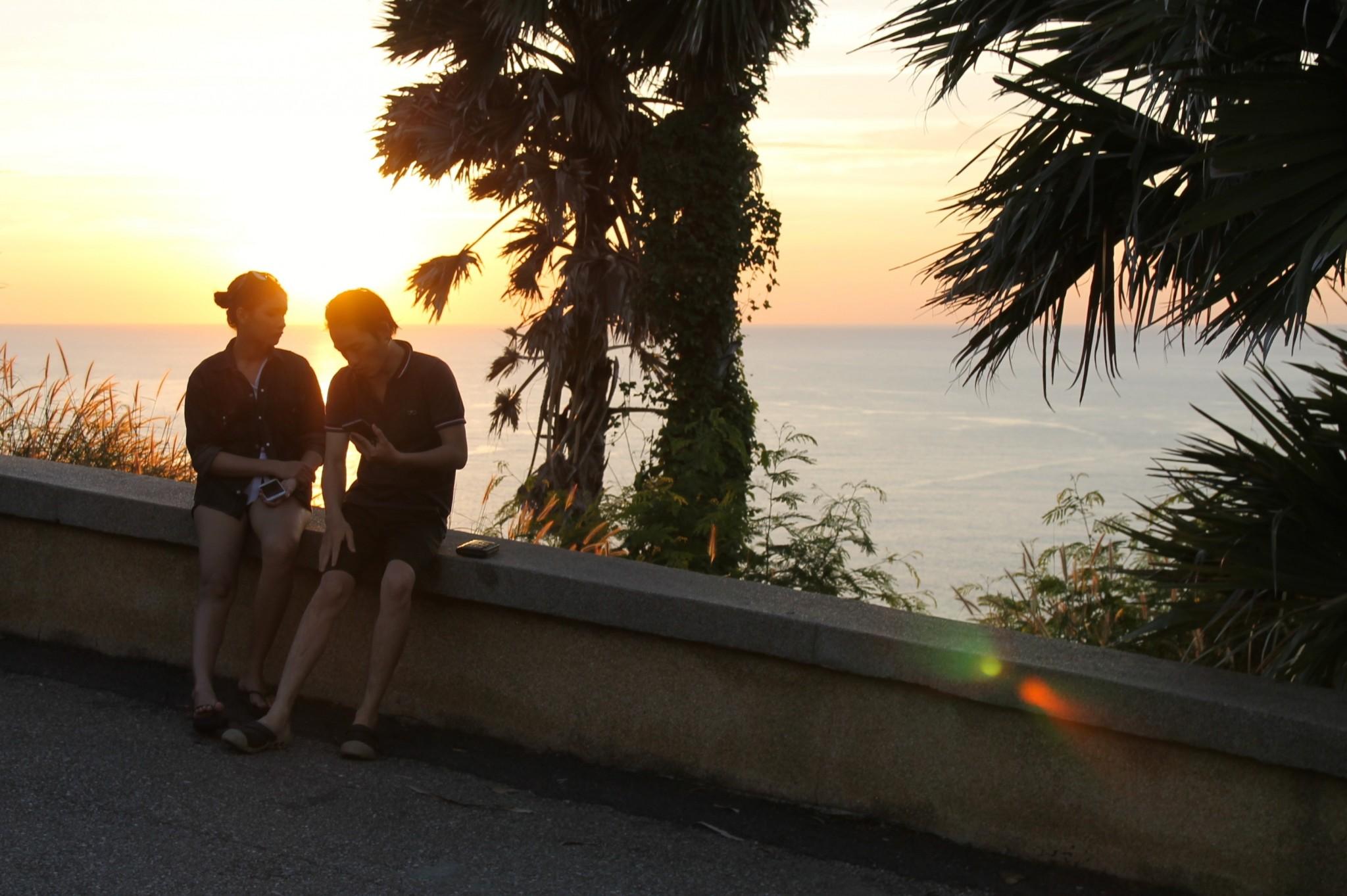 Aurongonlasku Phuket Promthep Cape