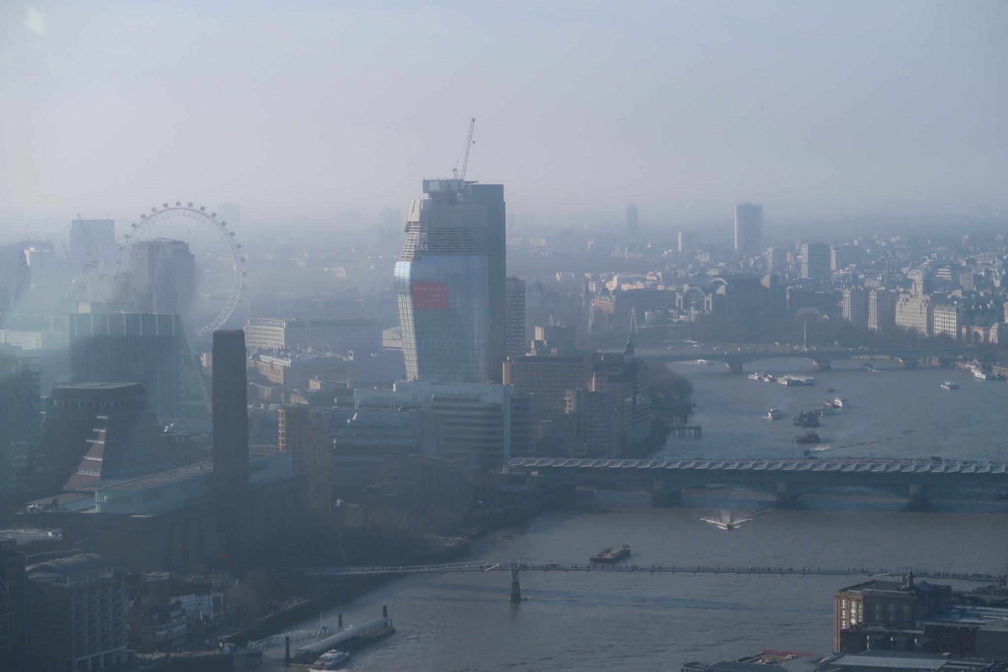 Sky Garden Lontoo näkymä