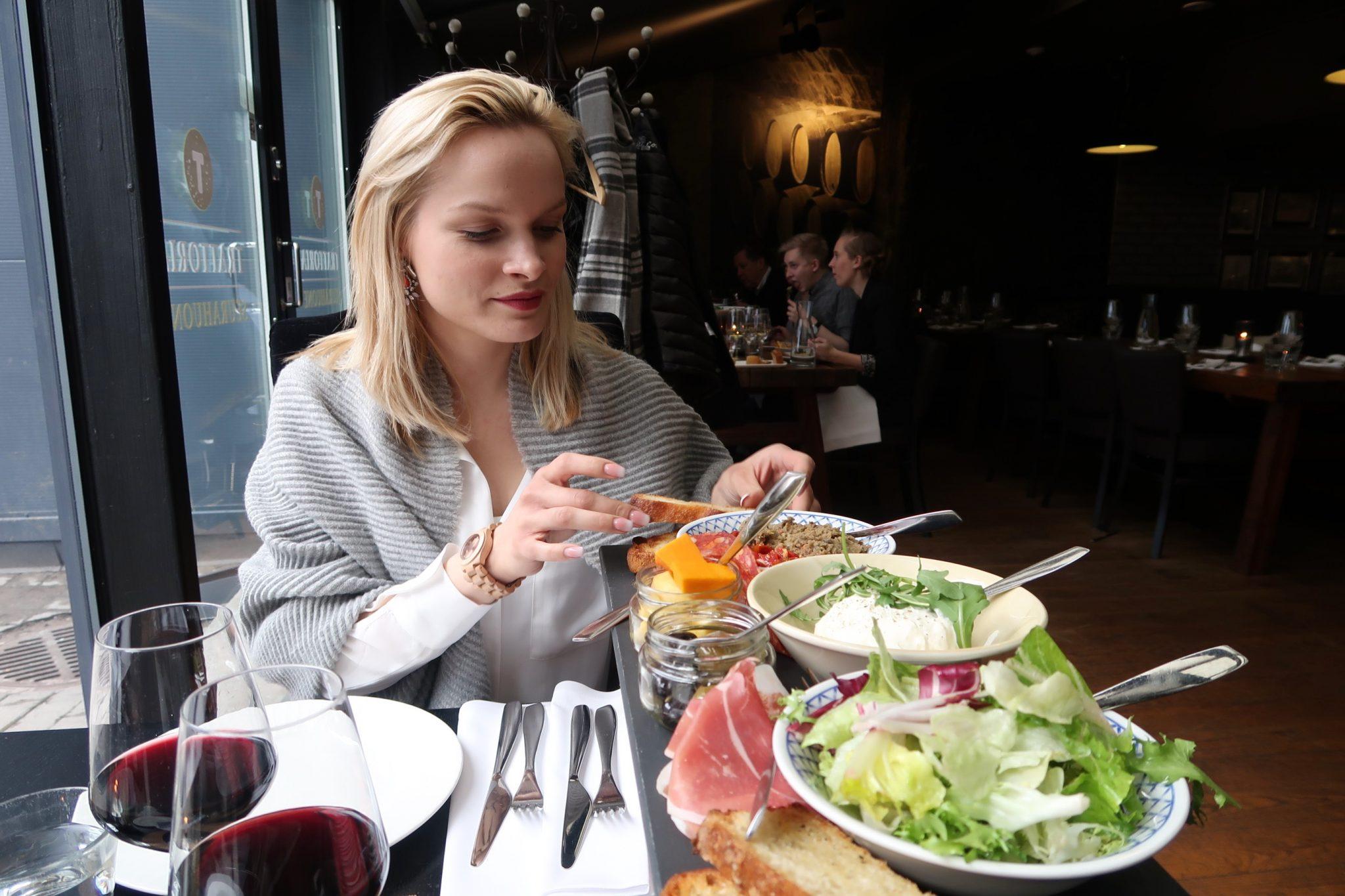 Lahti Trattoria illallinen