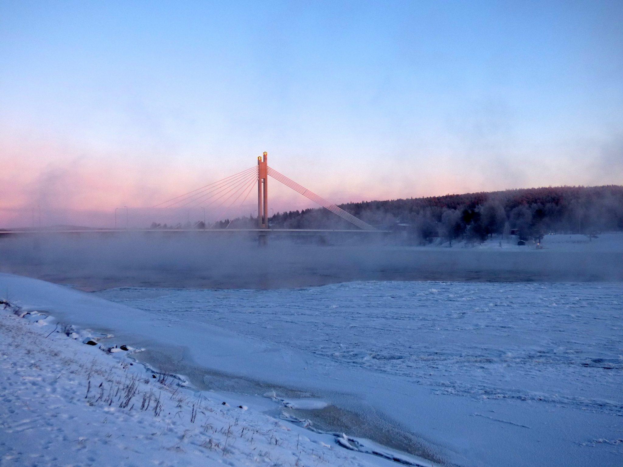Rovaniemi Jätkänkynttilä auringonlasku