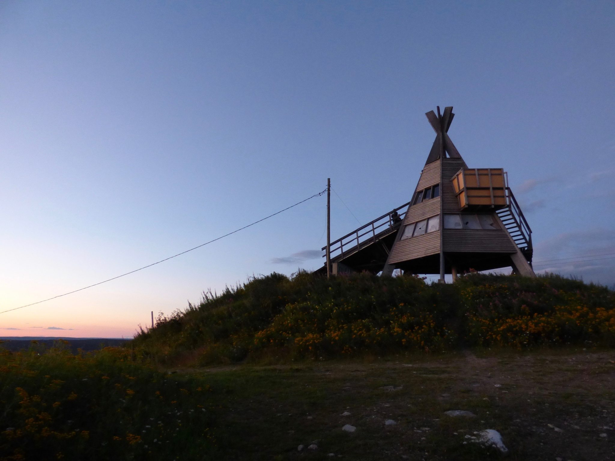 Rovaniemi Ounasvaara auringonlasku