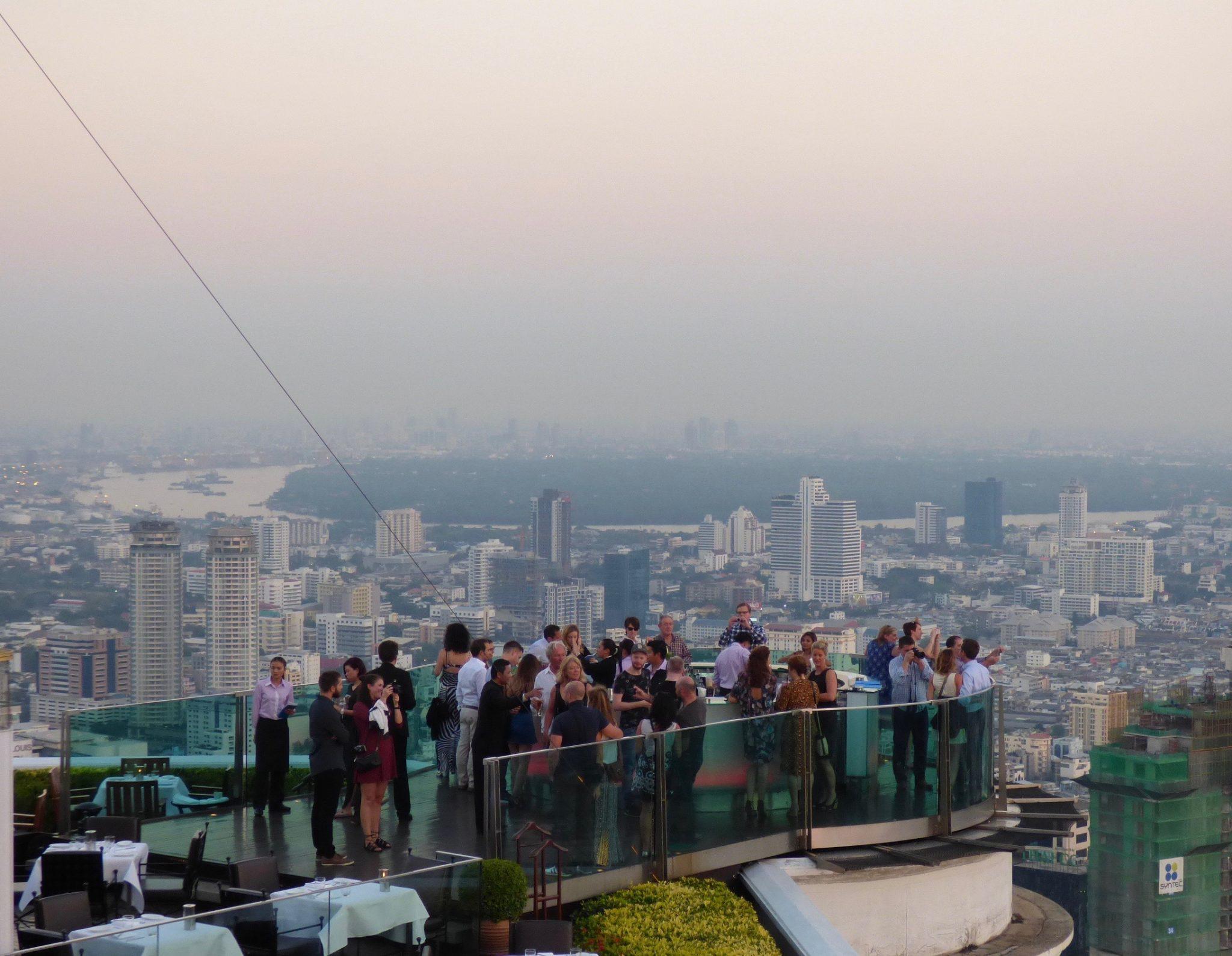 Lebua at State Tower kattobaari Bangkok