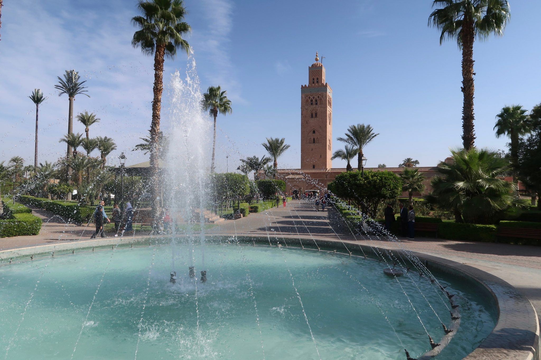 Marrakech Koutoubia moskeija