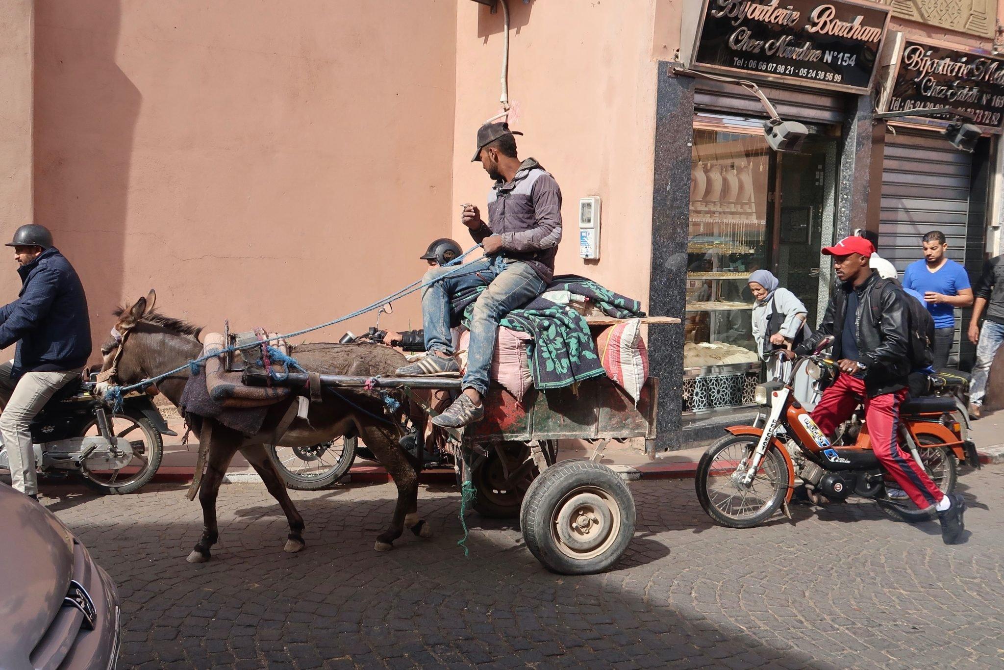 Marrakech vanhakapunki
