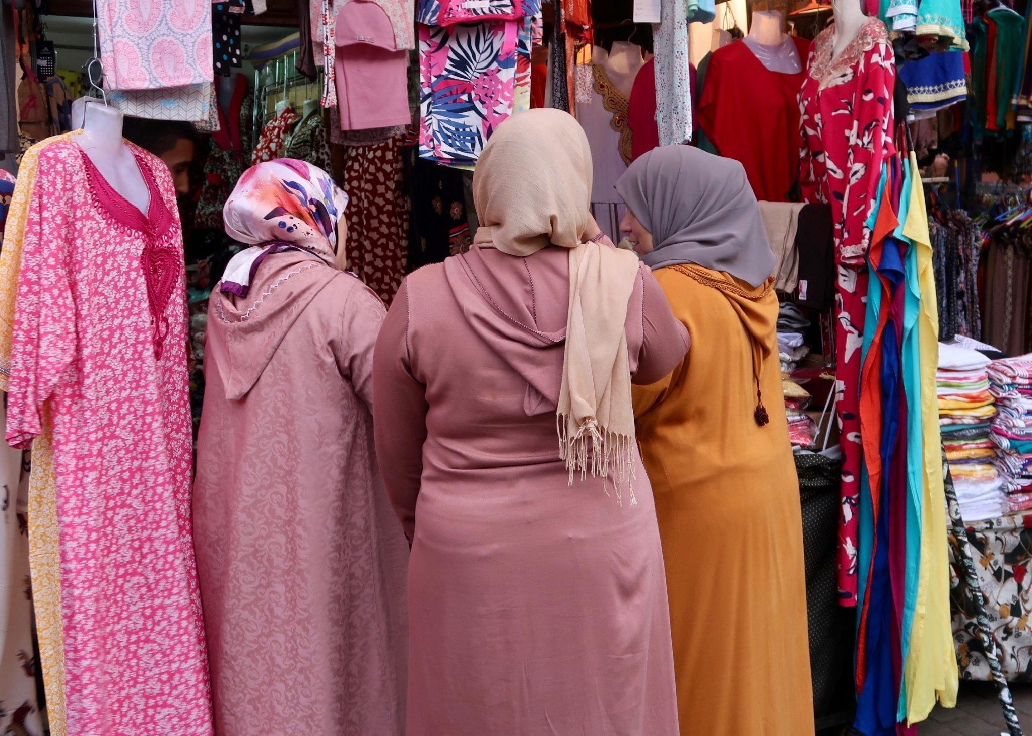 Marrakech pukeutuminen