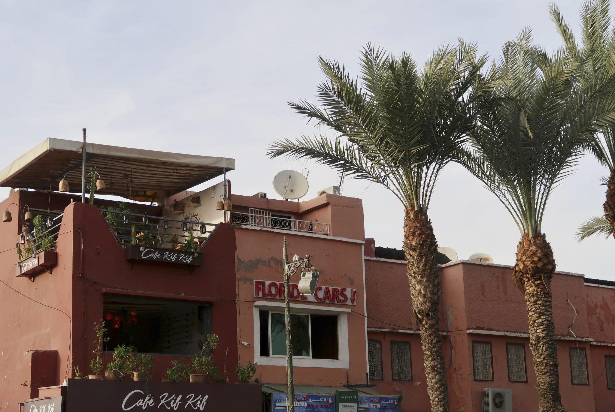 Marrakech terassirafla