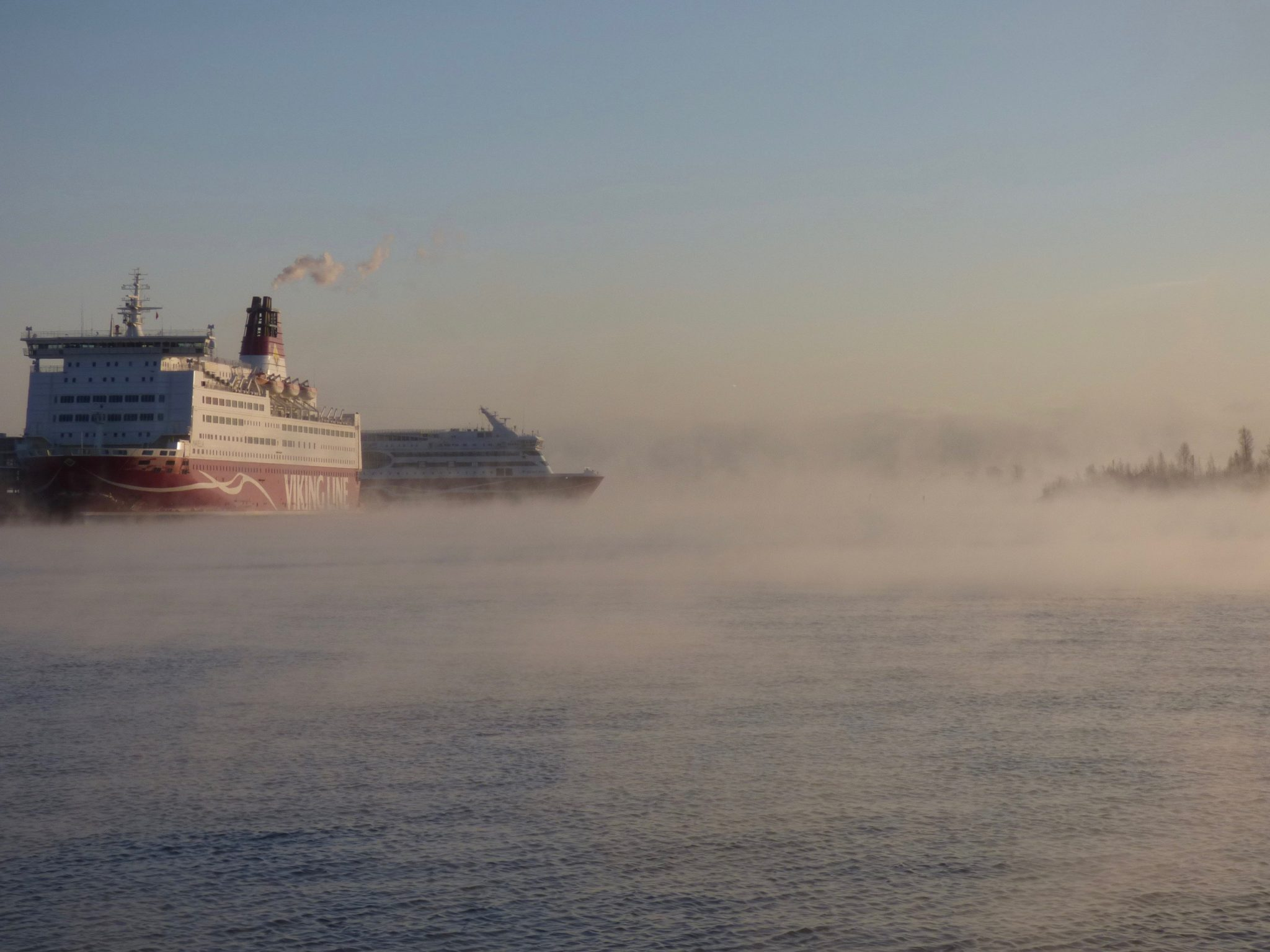 Helsinki talvi Viking Line