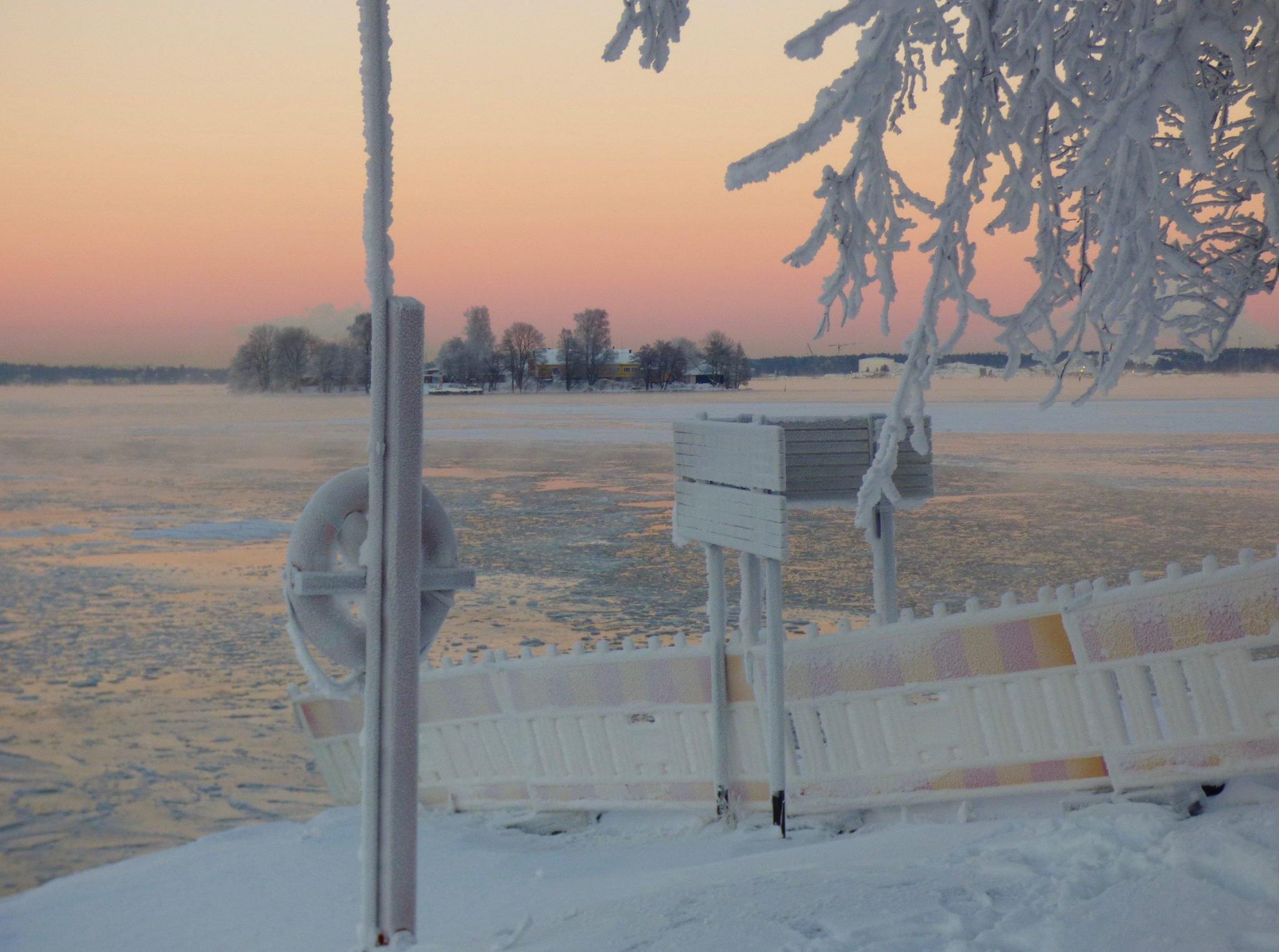 Suomenlinna auringonlasku