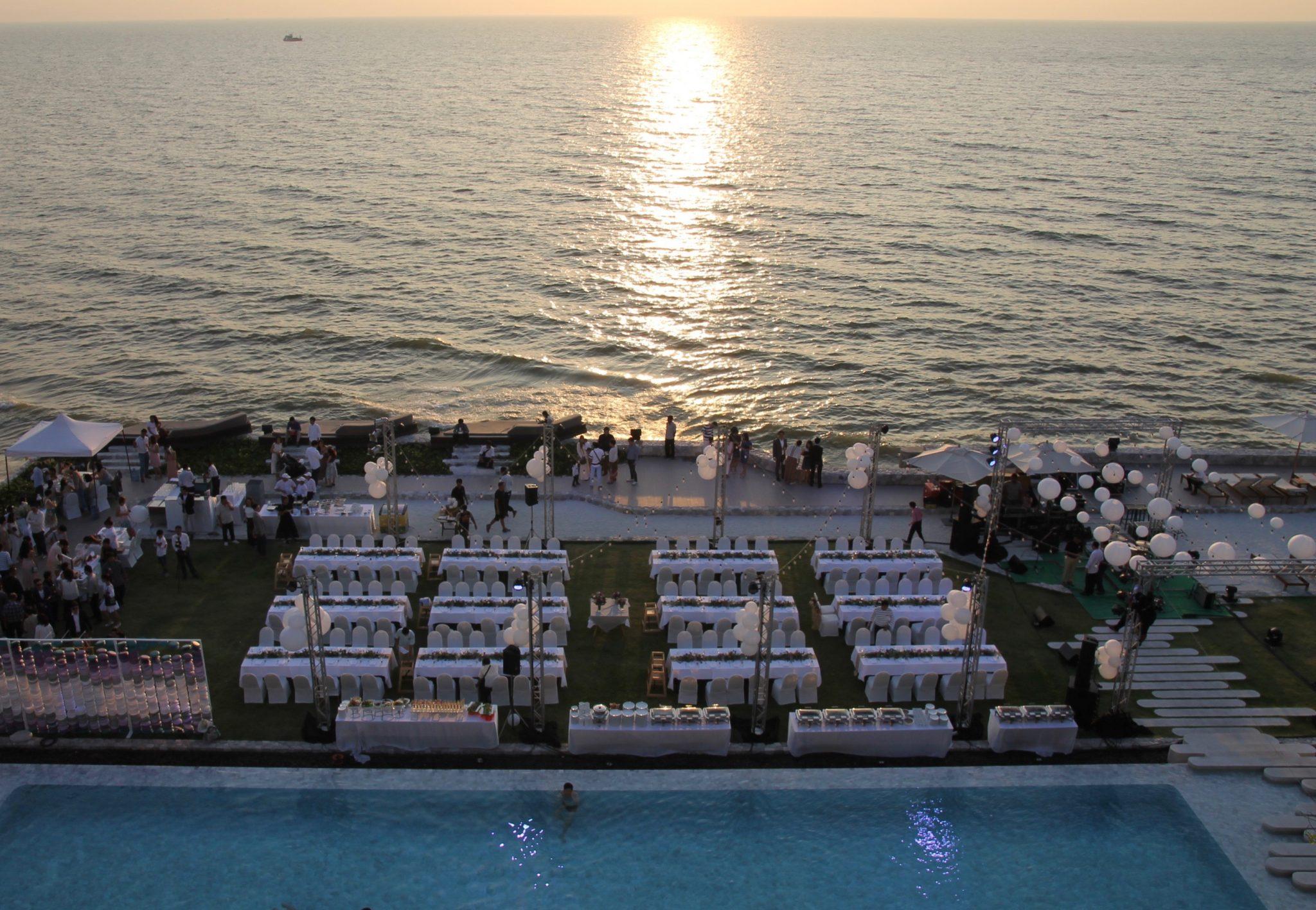 Veranda Pattaya auringonlasku
