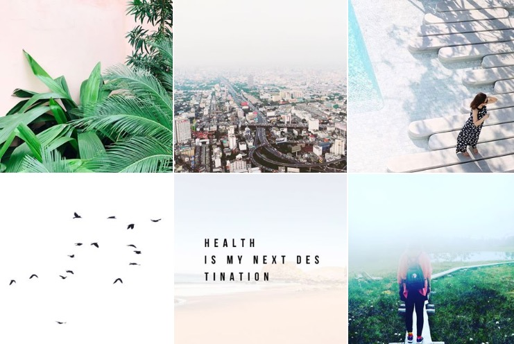 Instagram Next Destination Health
