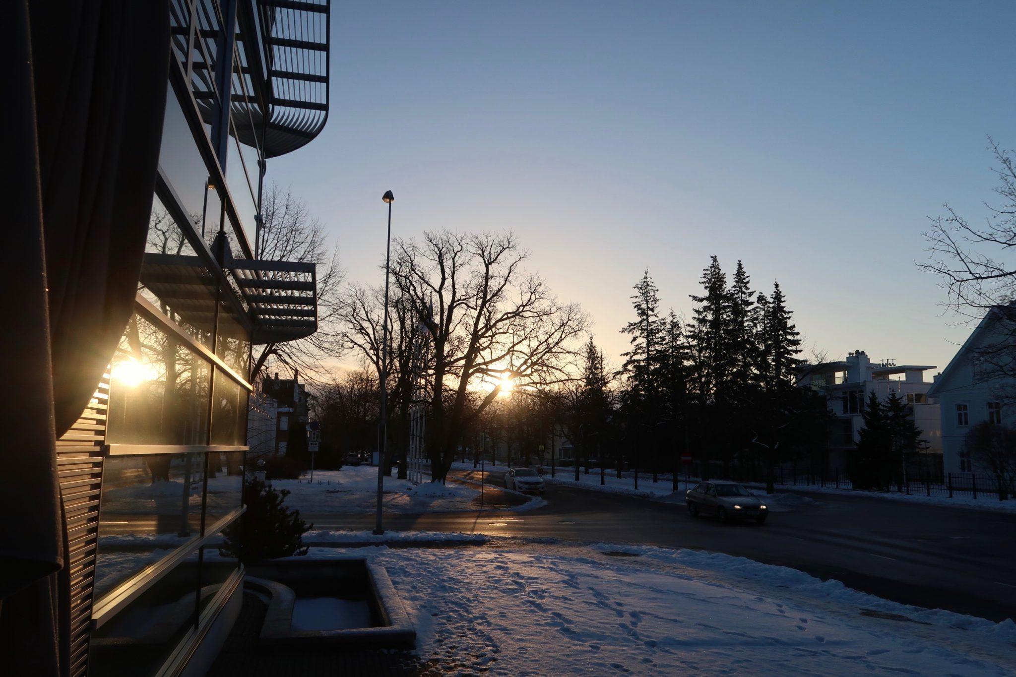 Pärnu auringonnousu