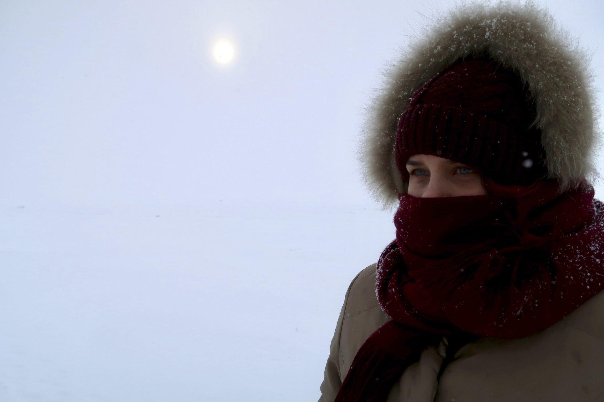 Pärnu merenranta talvi