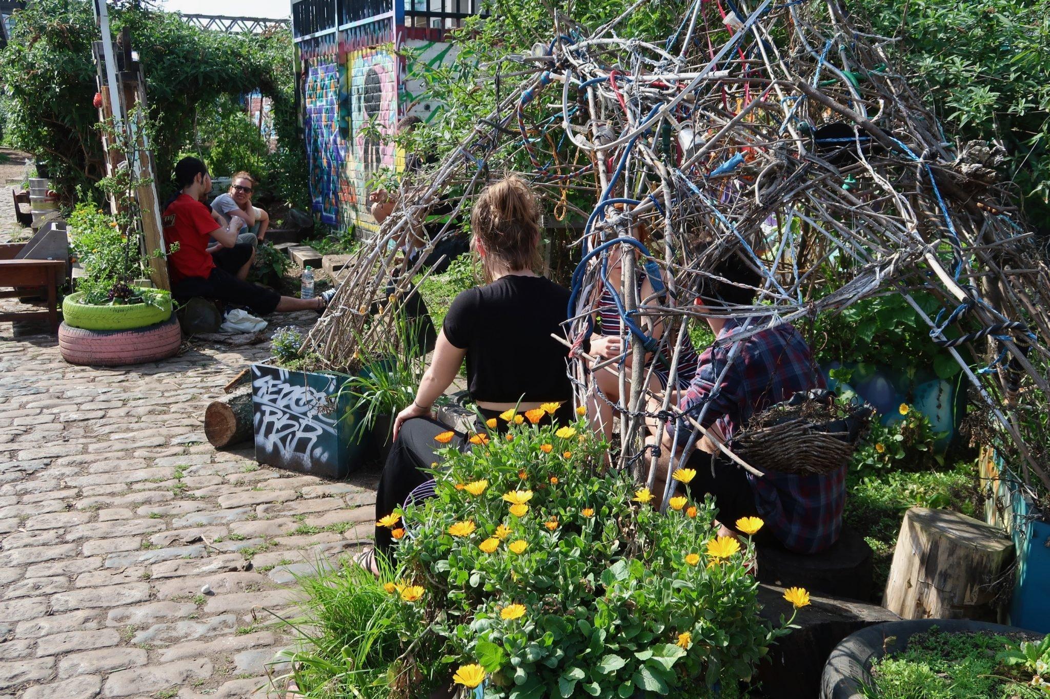 Nomadic Community Gardens Lontoo