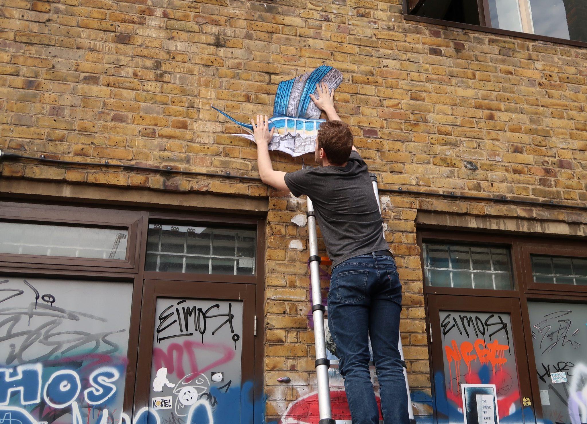 Bricklane Lontoo katutaide