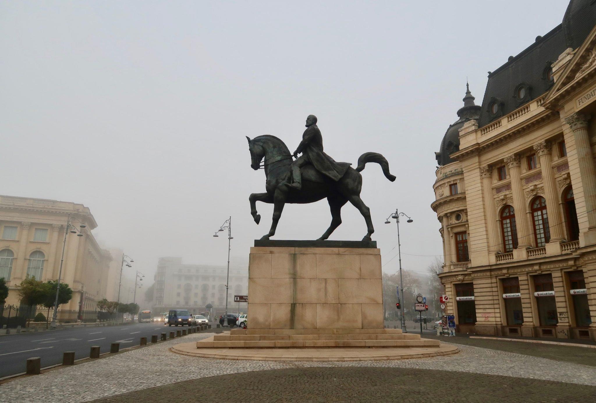 Bukarest patsas