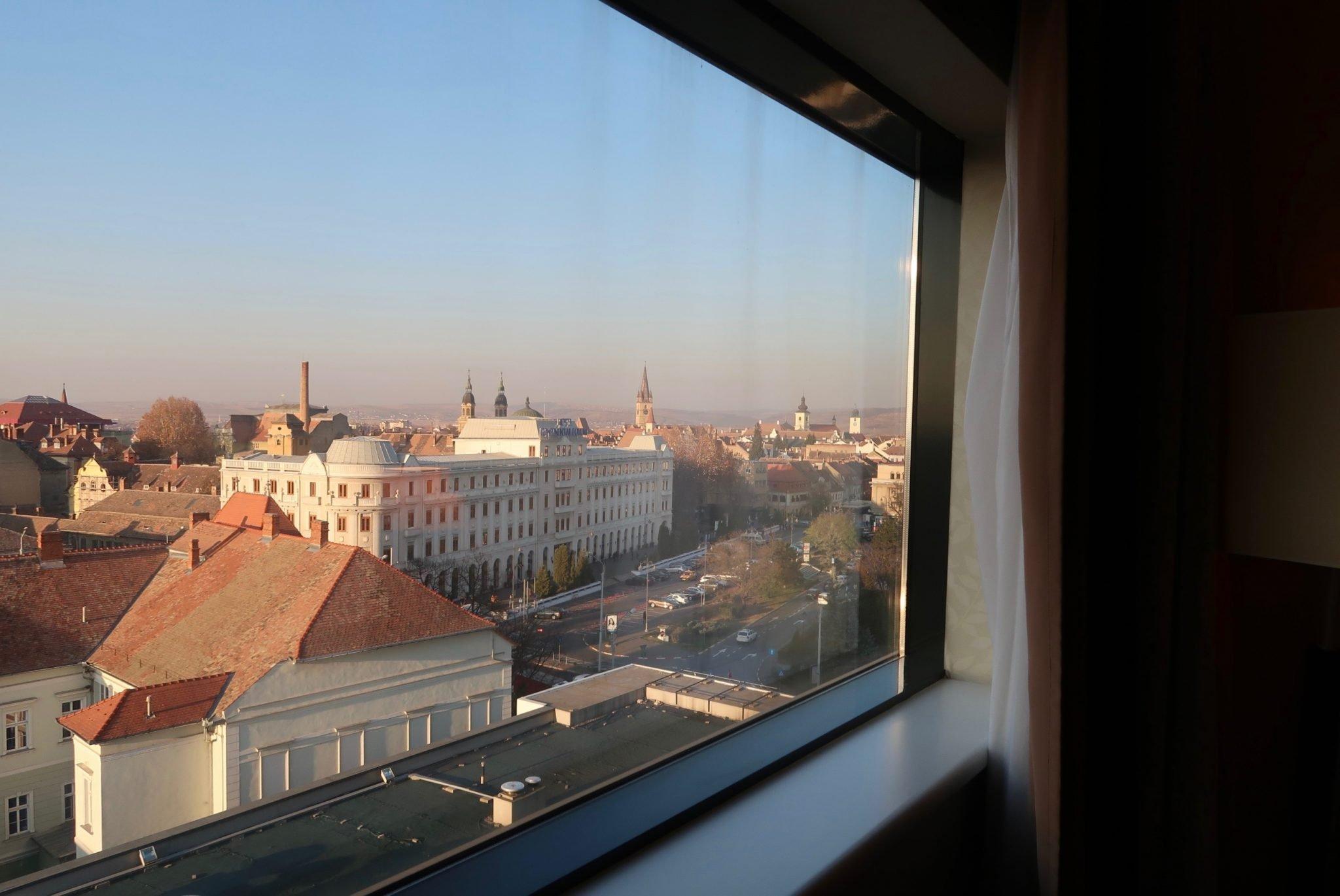 Sibiu Romania auringonnousu