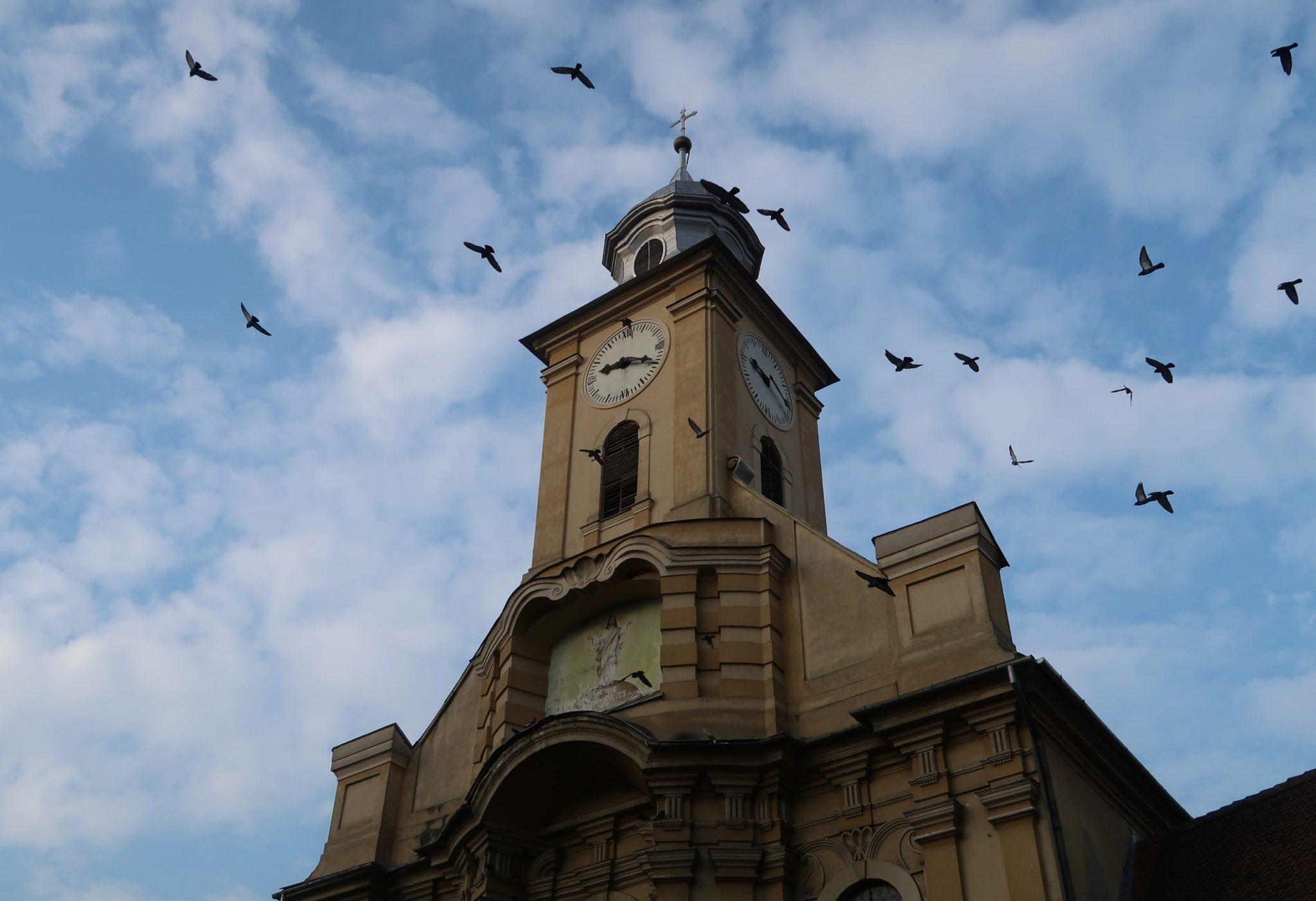 Romania Brasov kirkko