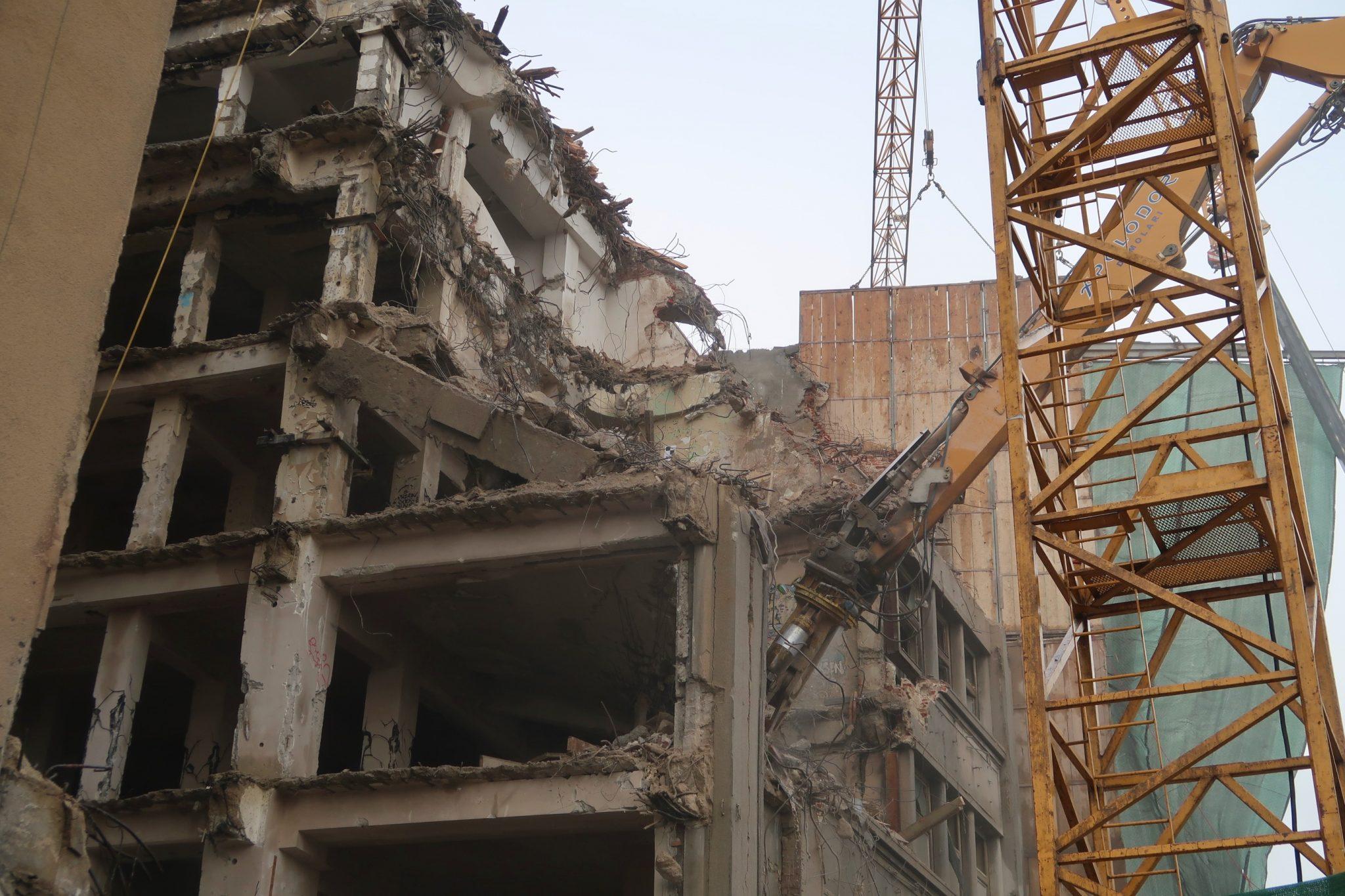 Bukarest rakennustyömaa