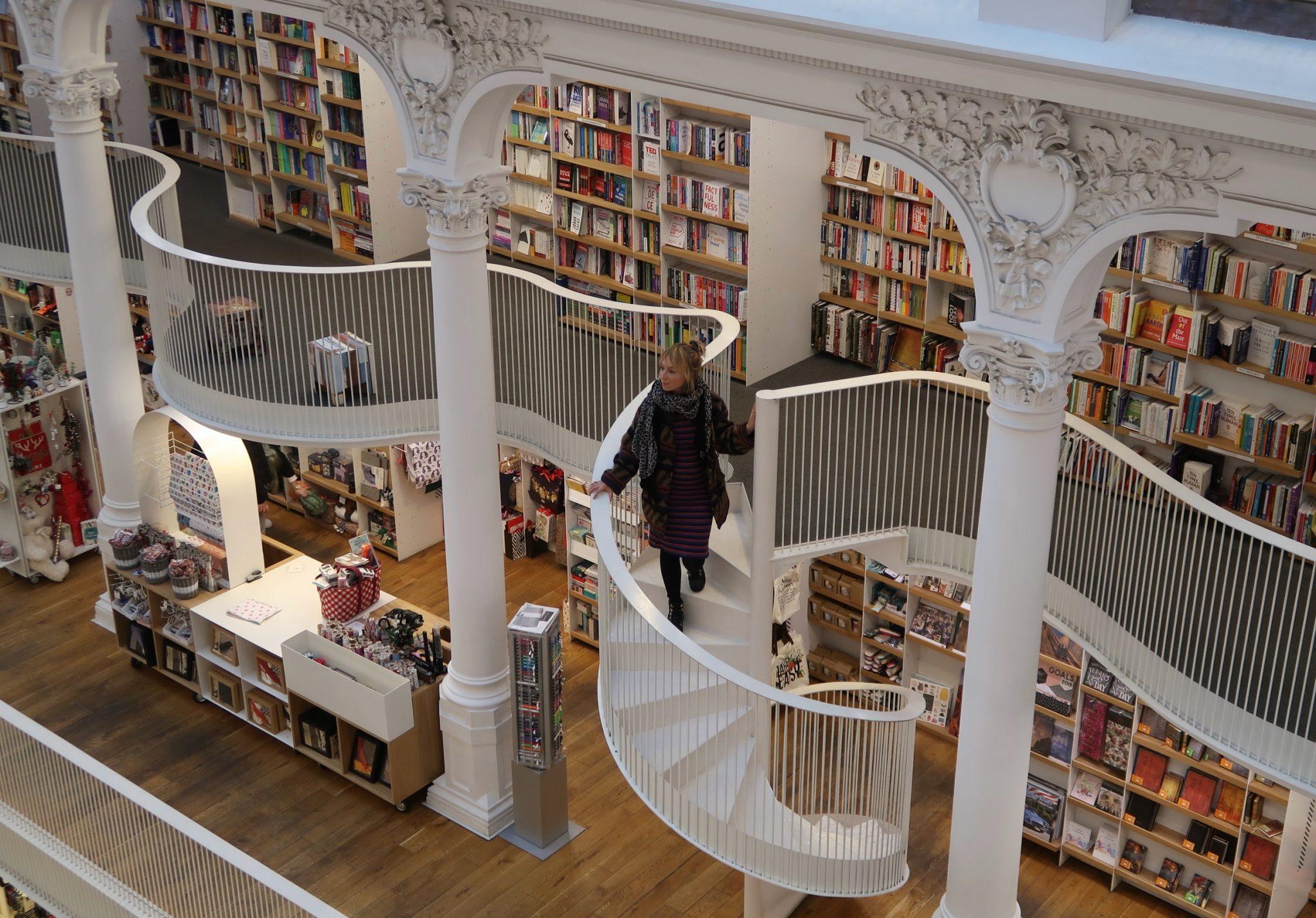 Bukarestin kaunein kirjasto