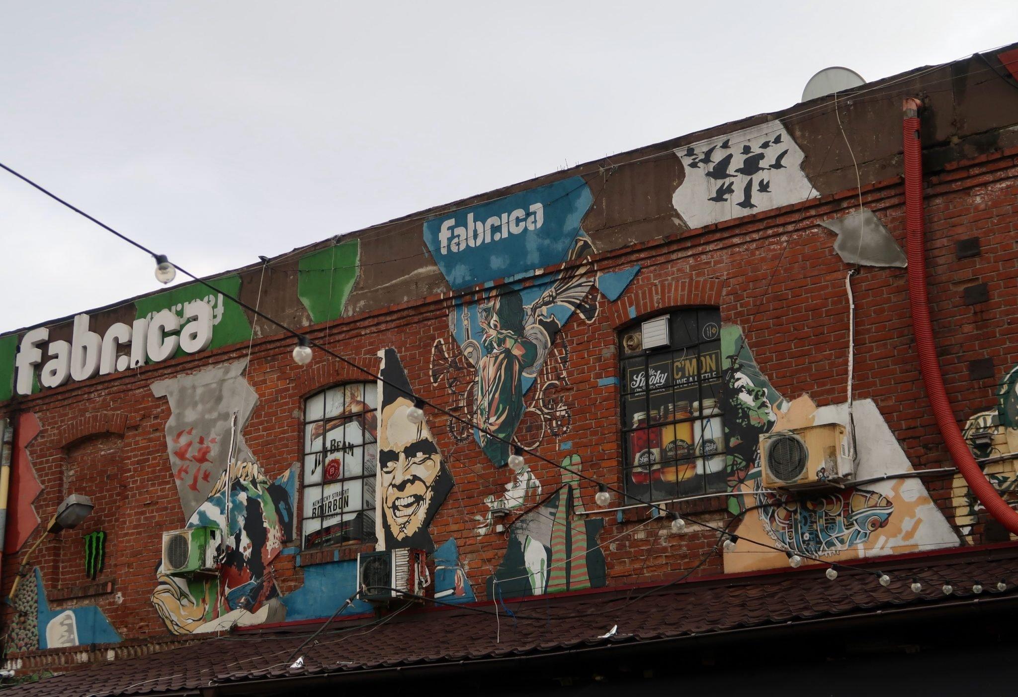 Bukarest Fabrika katutaide