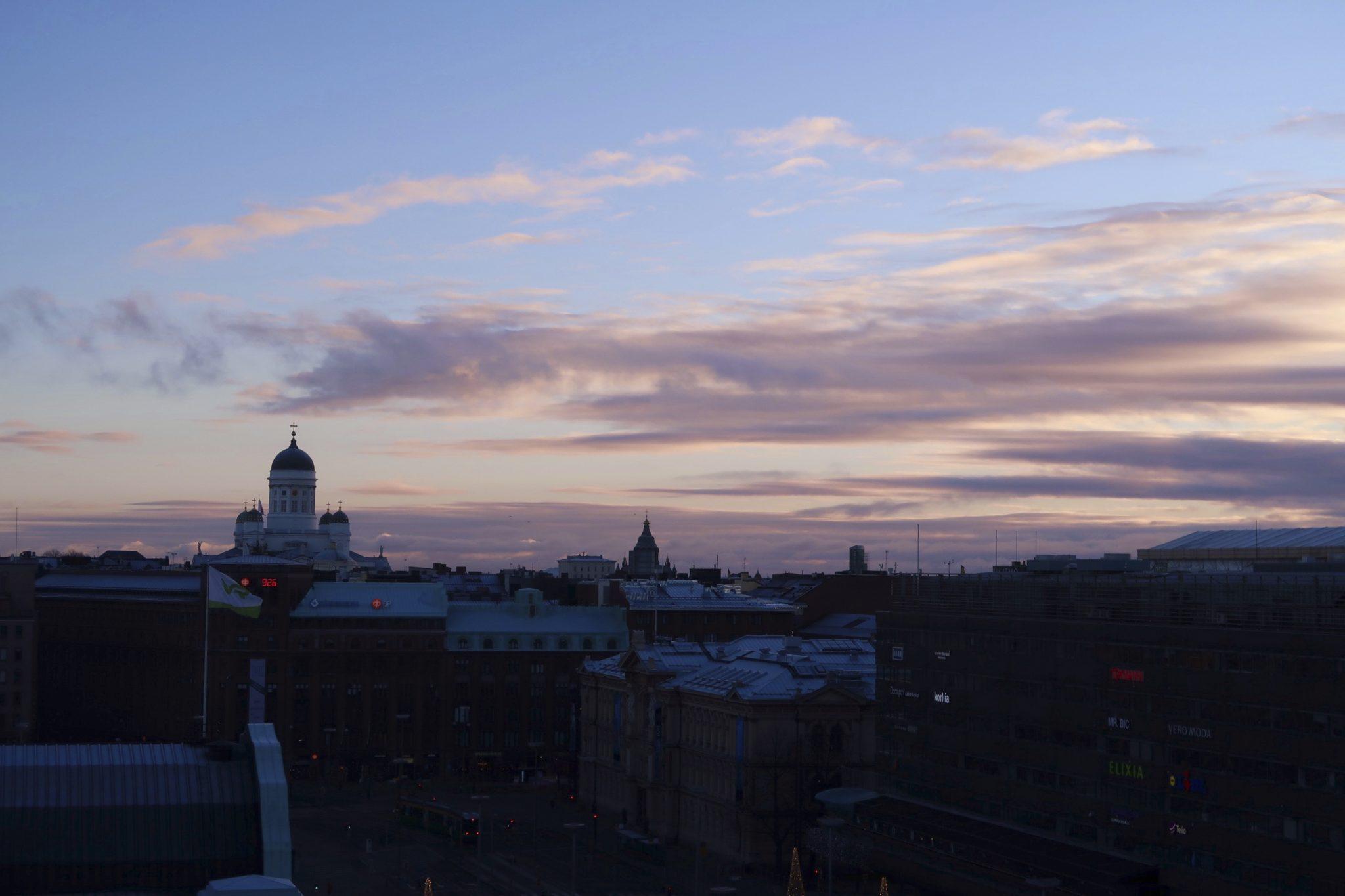 Sokos Hotel Vaakuna auringonnousu