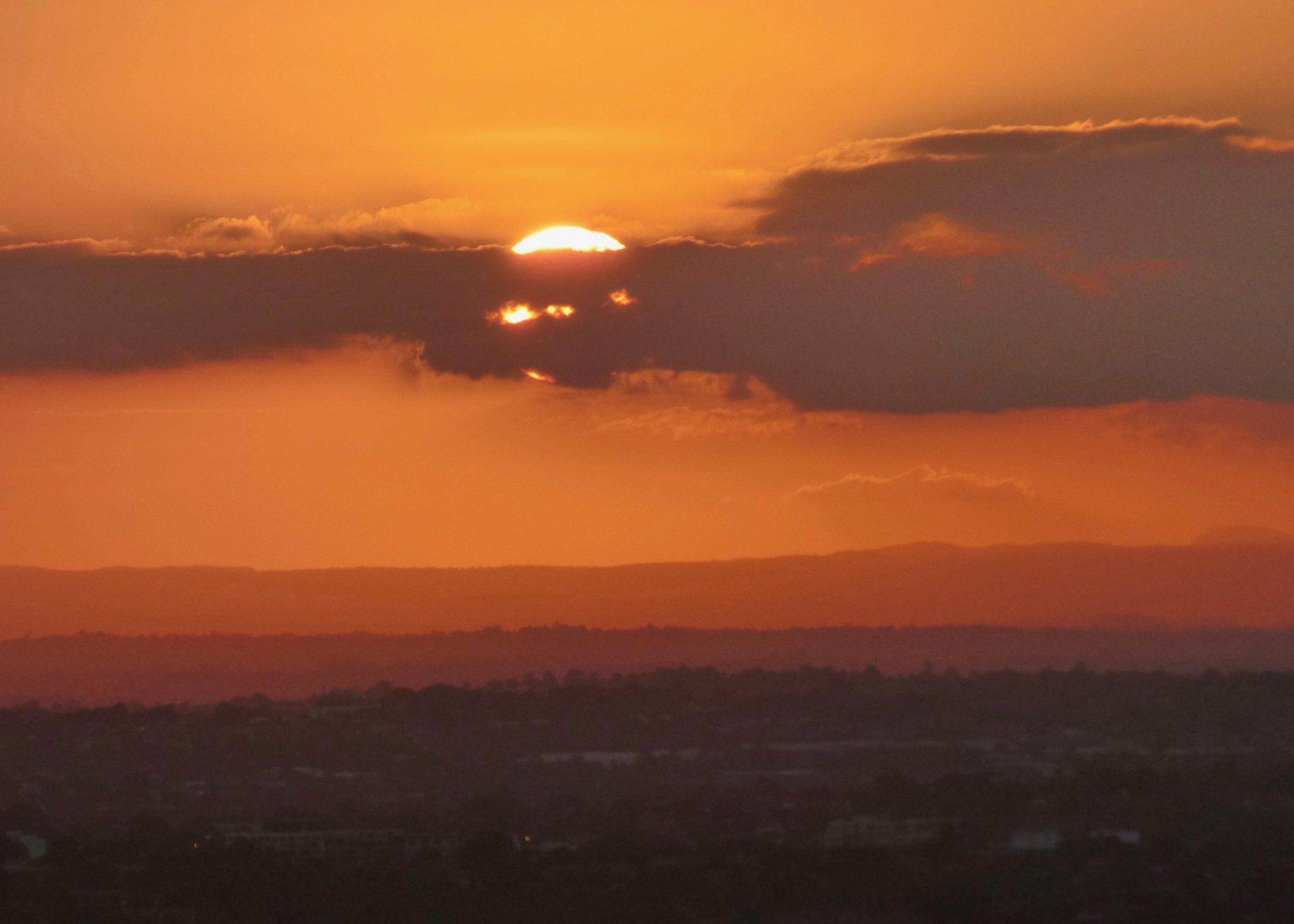 Sydney auringonlasku