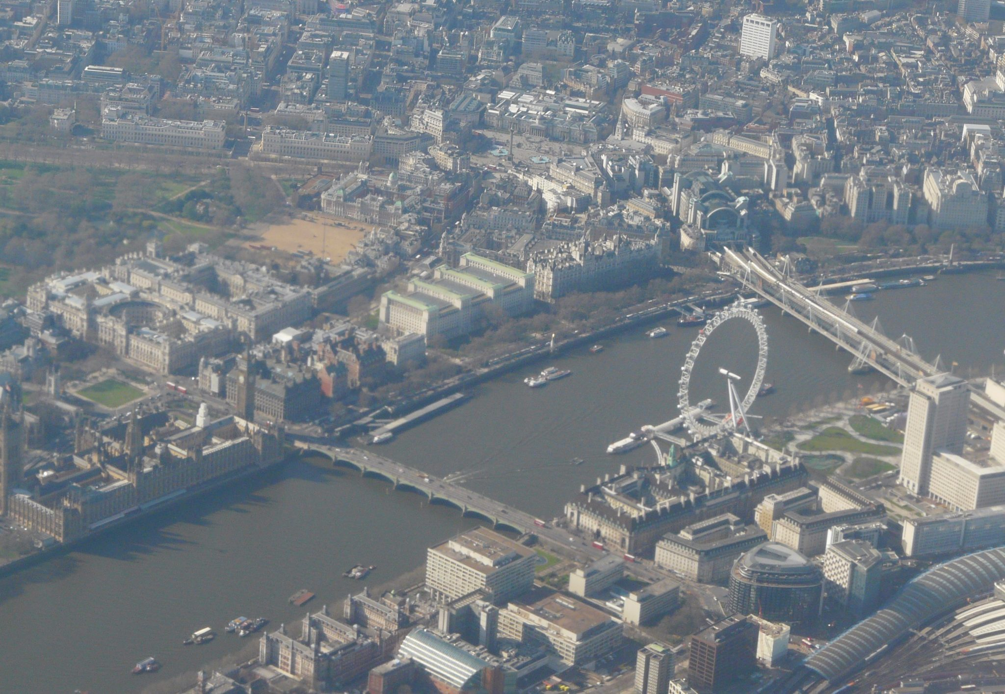 Lontoo lentokoneesta