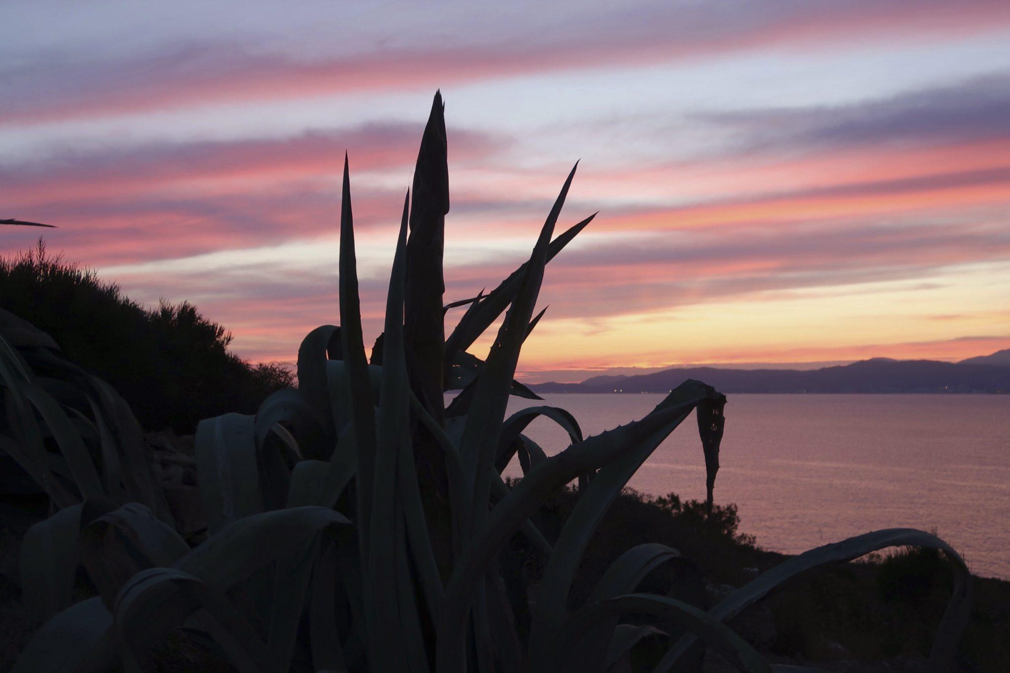 Cap Rocat Mallorca auringonlasku