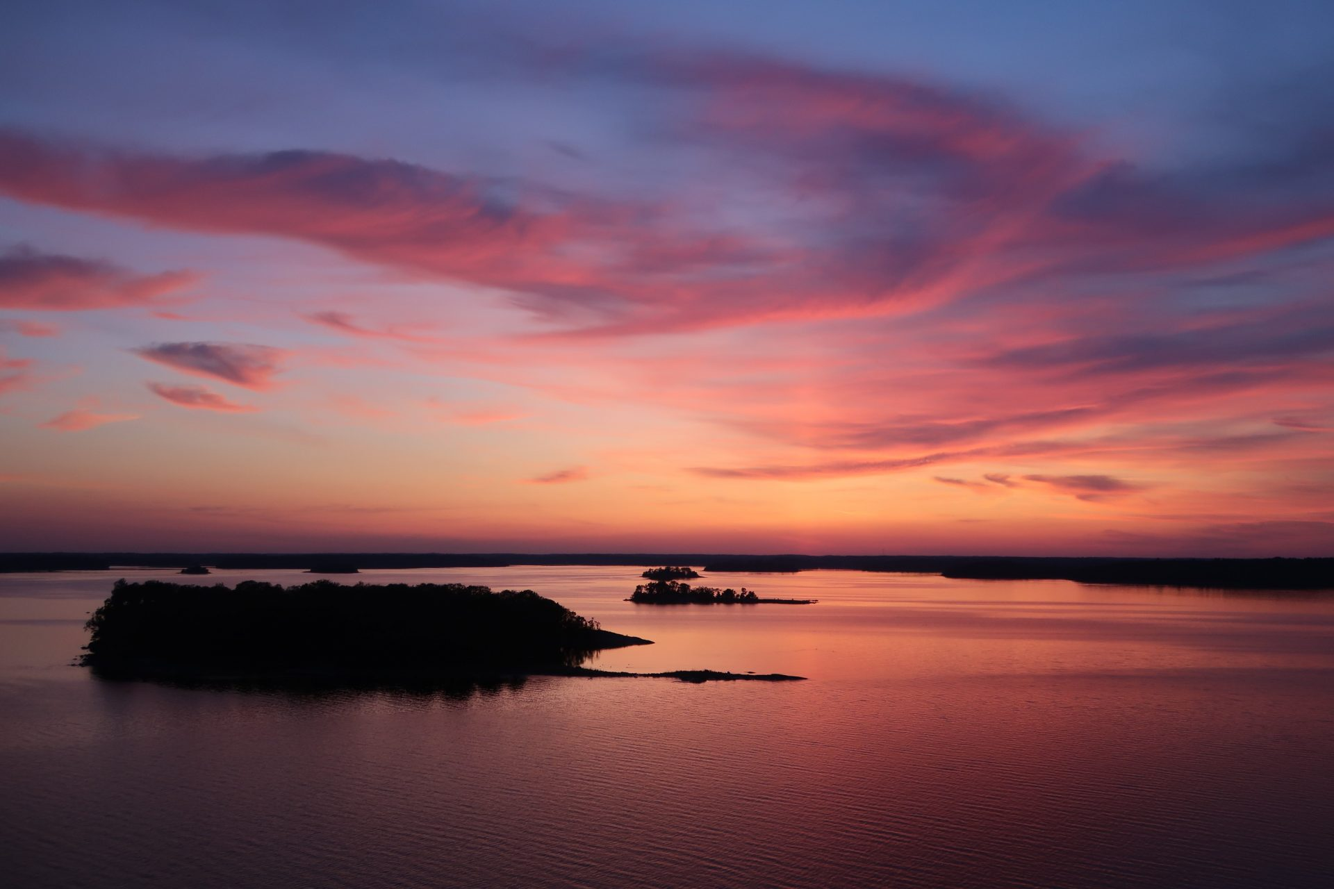 Silja Line auringonlasku