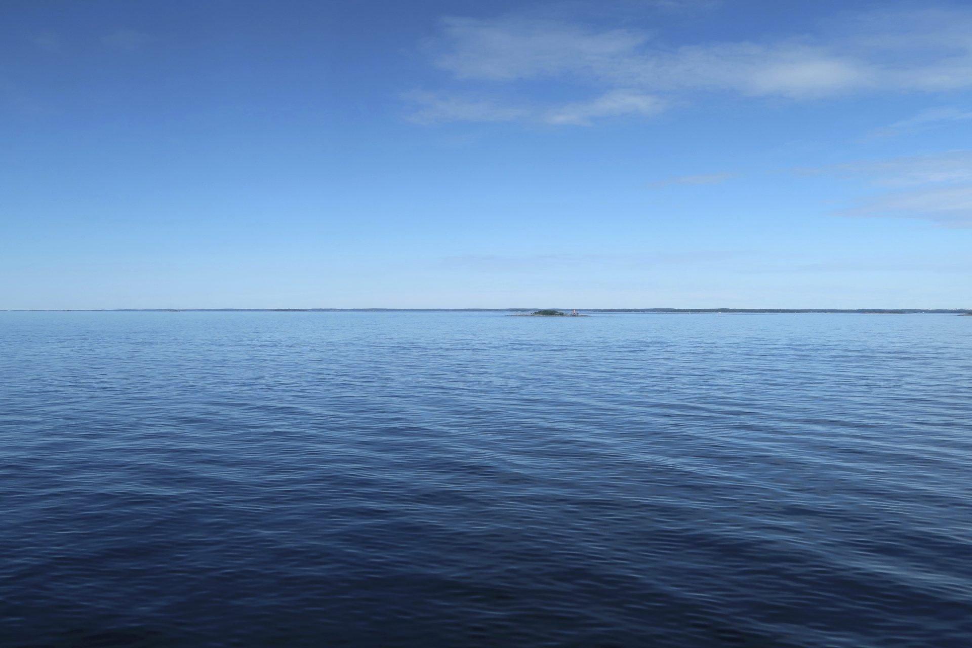 Tallink-Silja laivan kannella