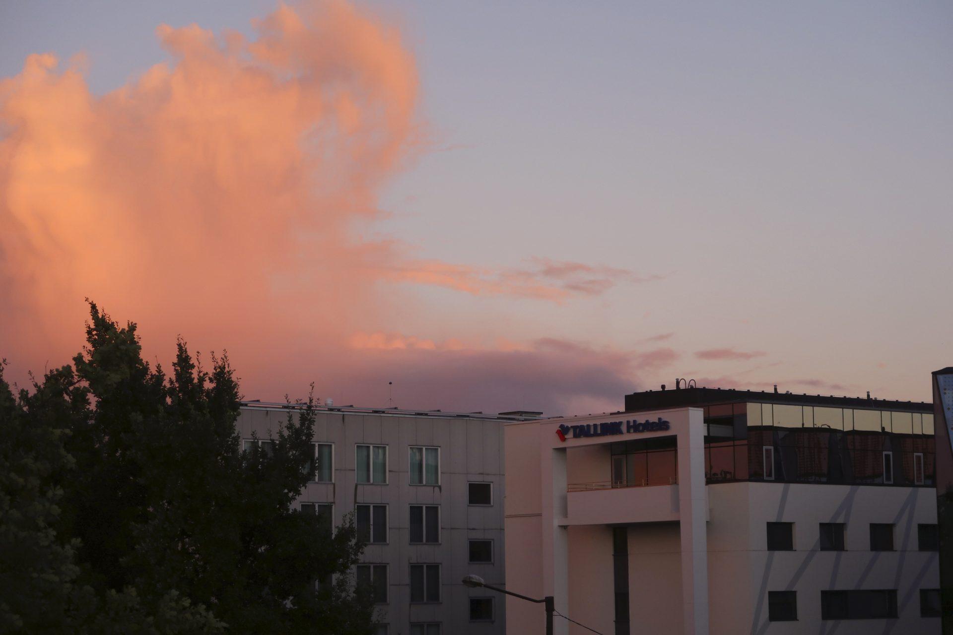 Tallinna auringonlasku