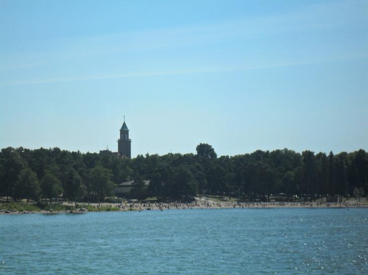 Helsingin Saaret Hellepaiva Mustasaaressa Pienten Helsinki