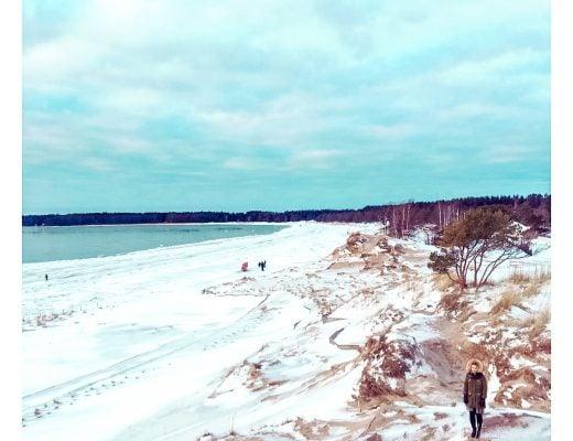 Yyteri talvella