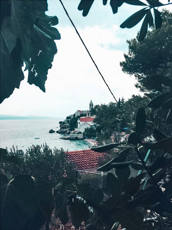 Kroatia Pisak näkymä