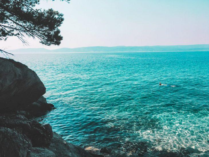 Kroatia turkoosi meri